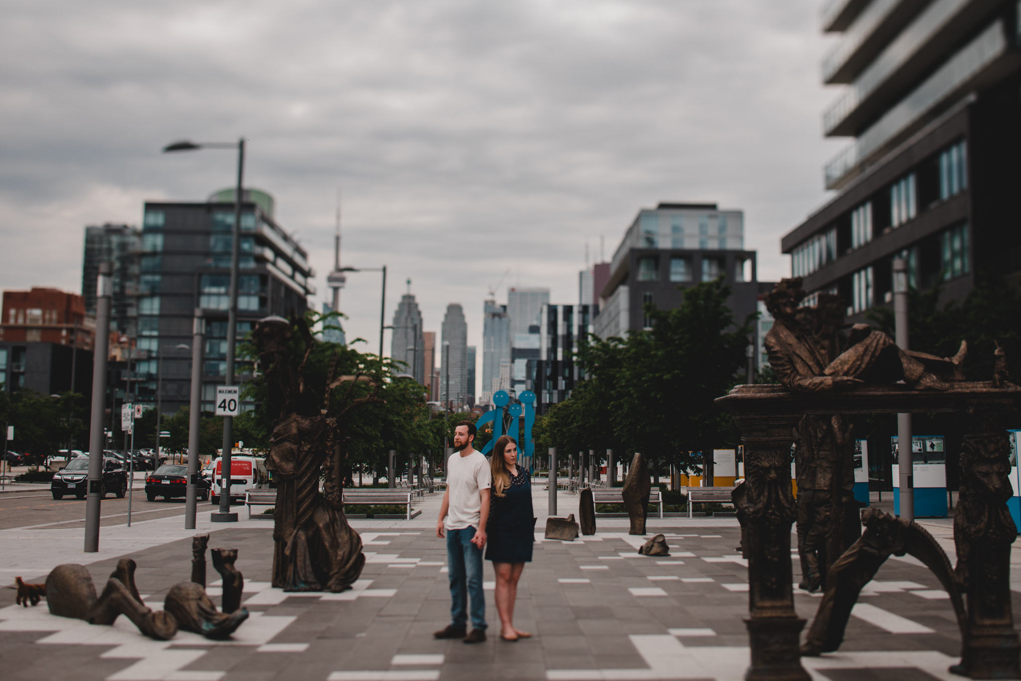 Downtown Toronto Engagement Pictures