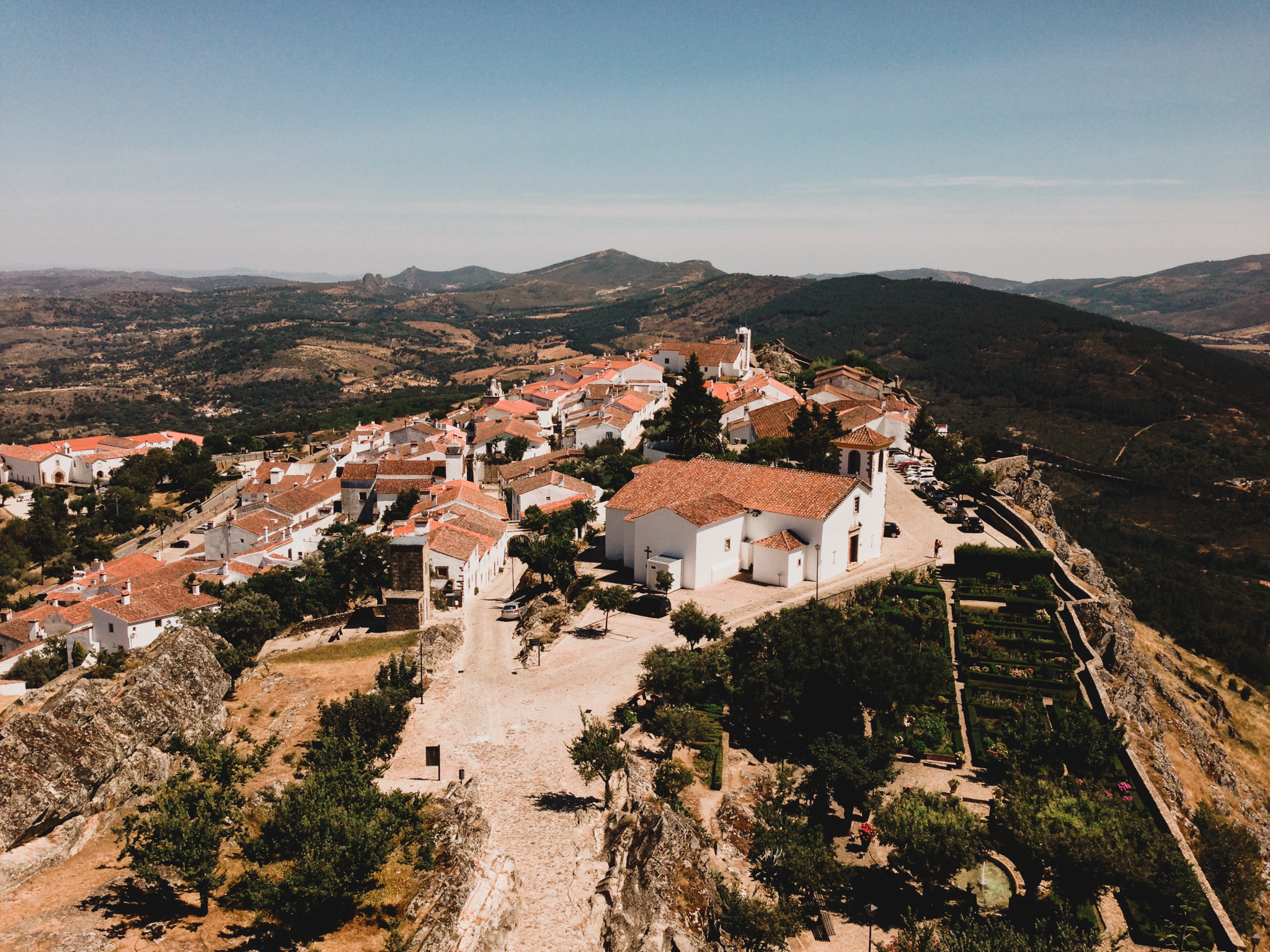 Marvao, Portugal View