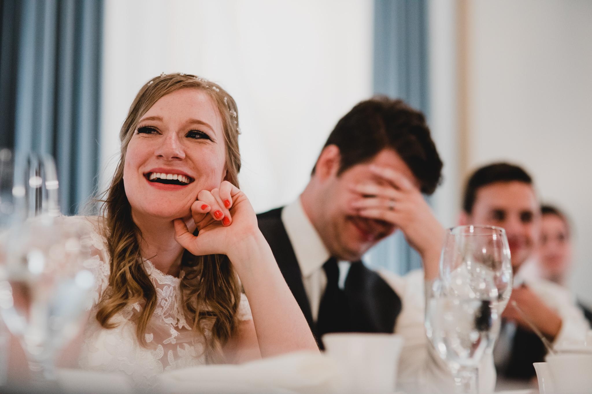 Natural wedding photography, candid