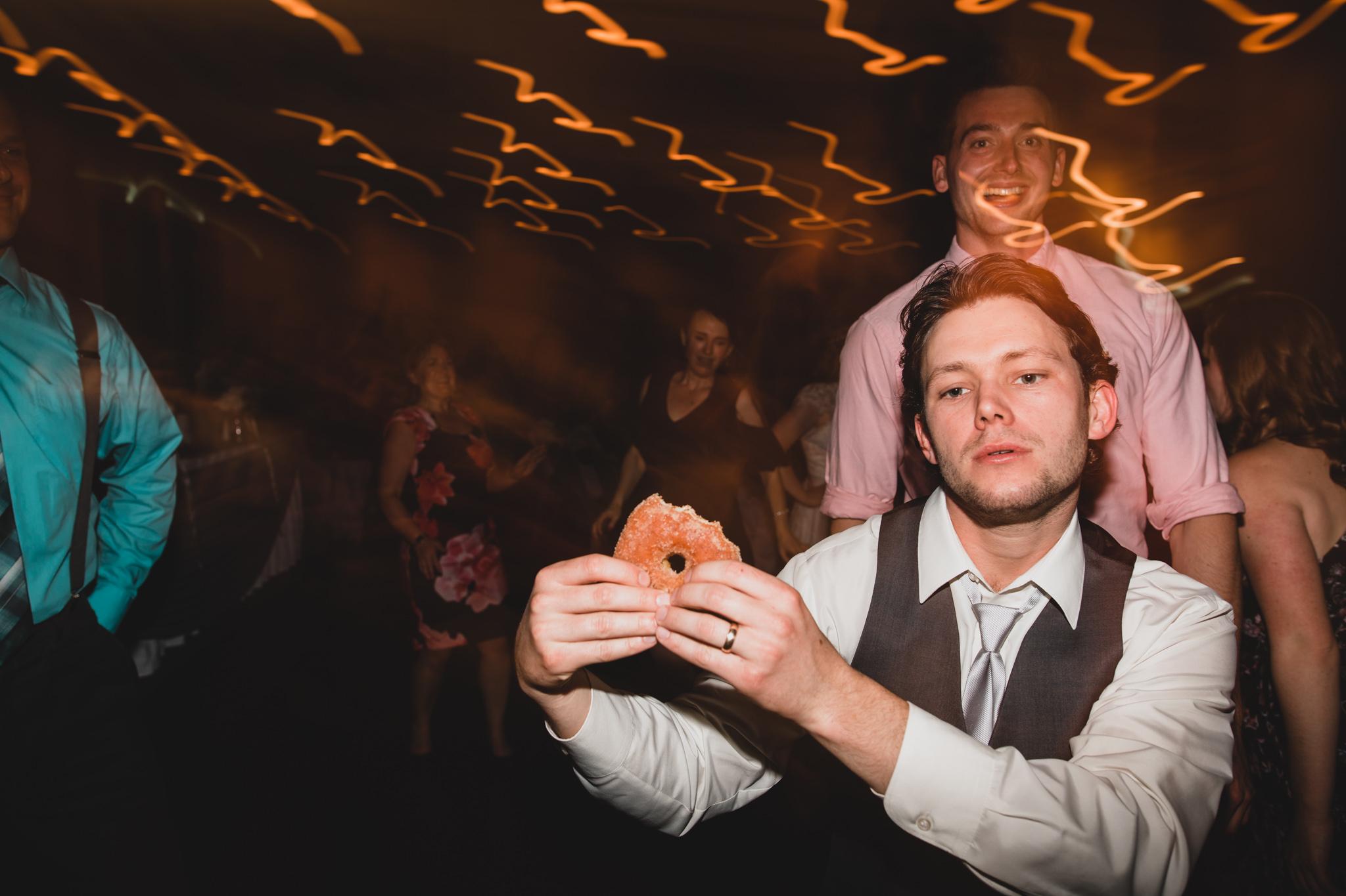 Kitchener Waterloo Donuts Wedding