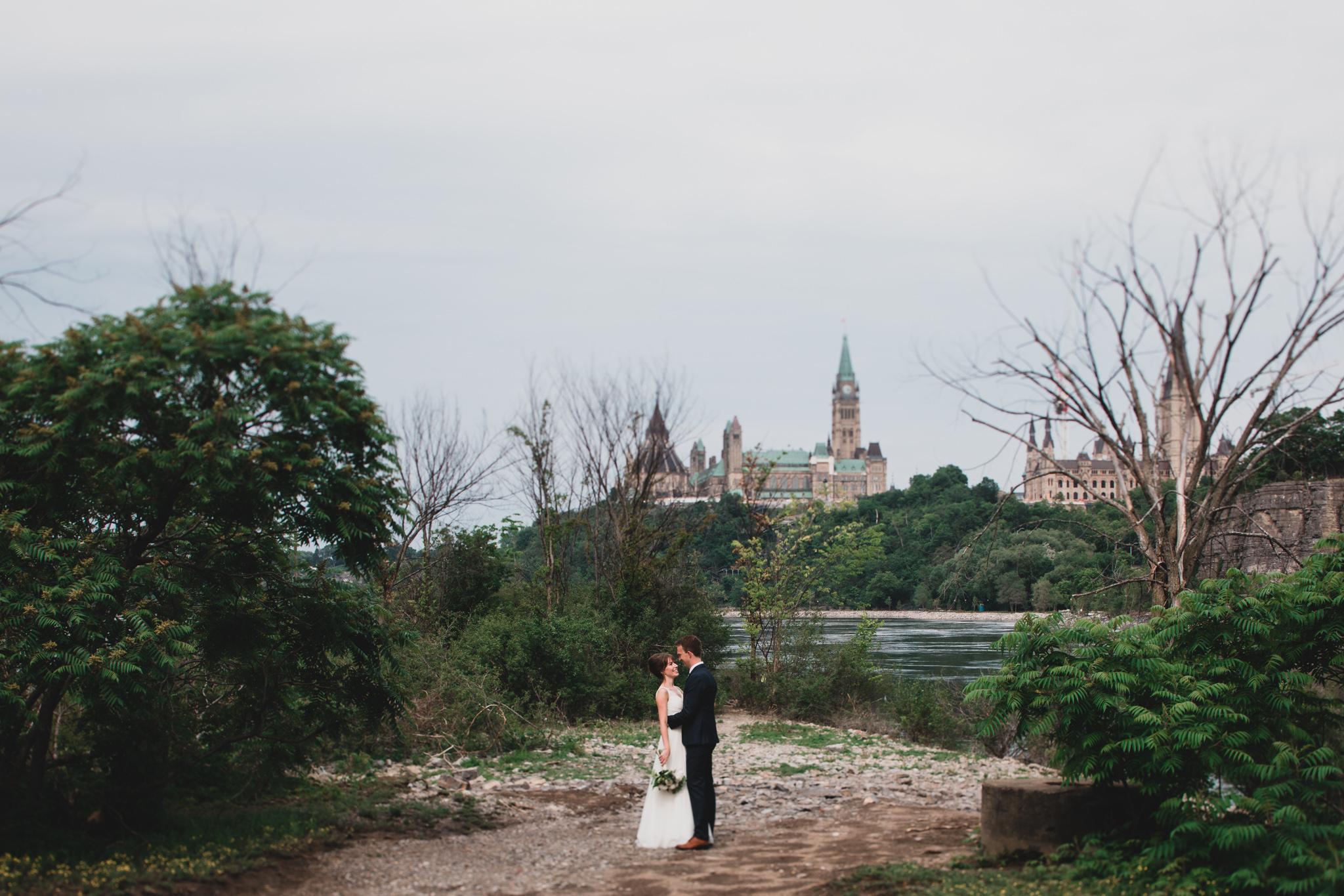 Downtown Ottawa Wedding Photographs