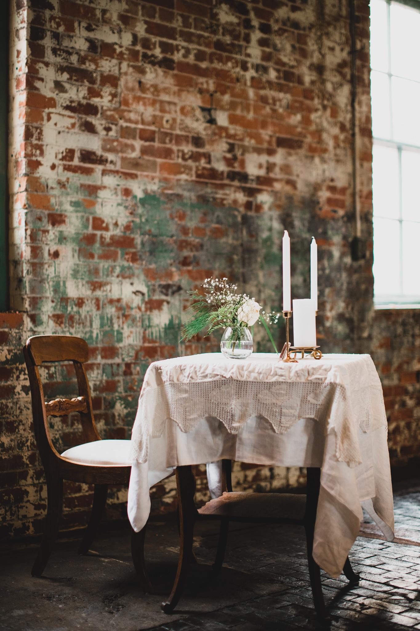 Industrial Wedding Venue Ceremony
