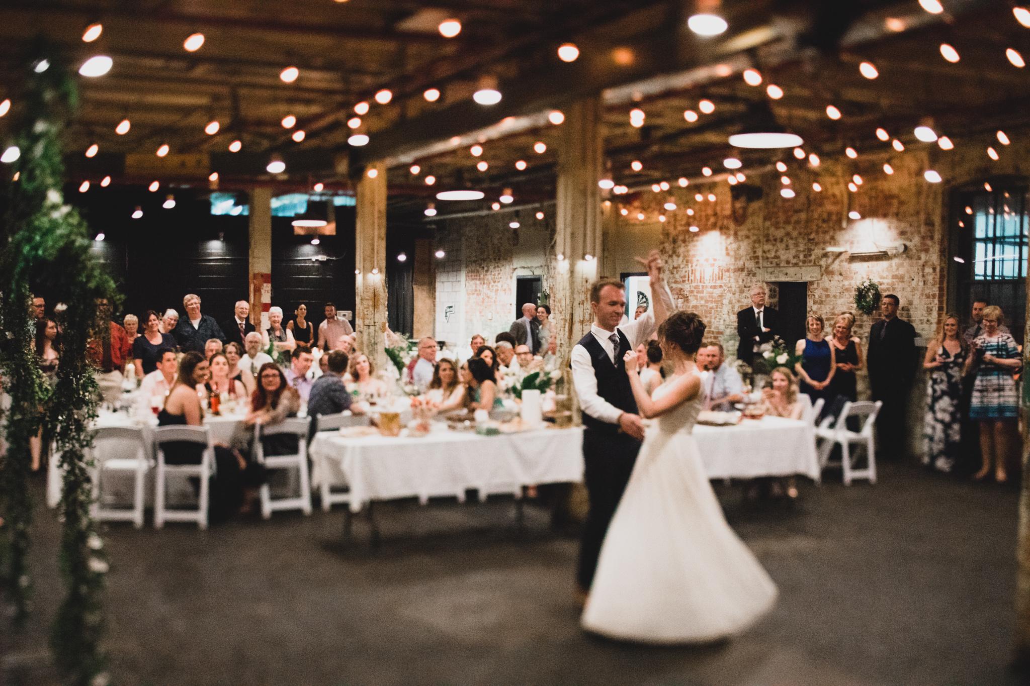 Zibi Wedding Reception in Gatineau