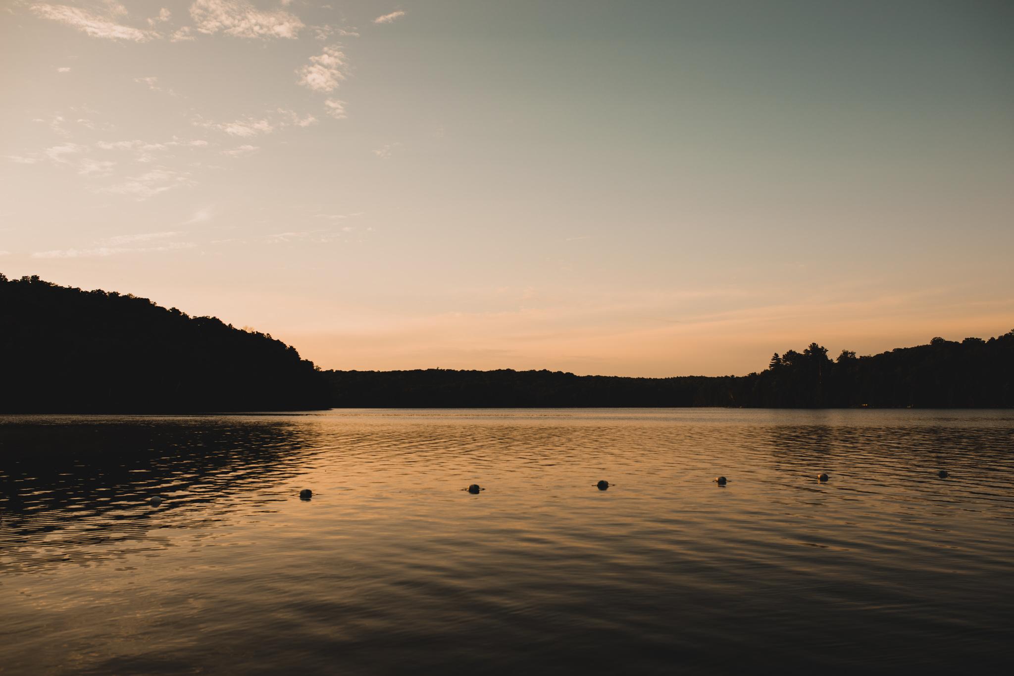 Meech Lake at Sunset, Gatineau Park