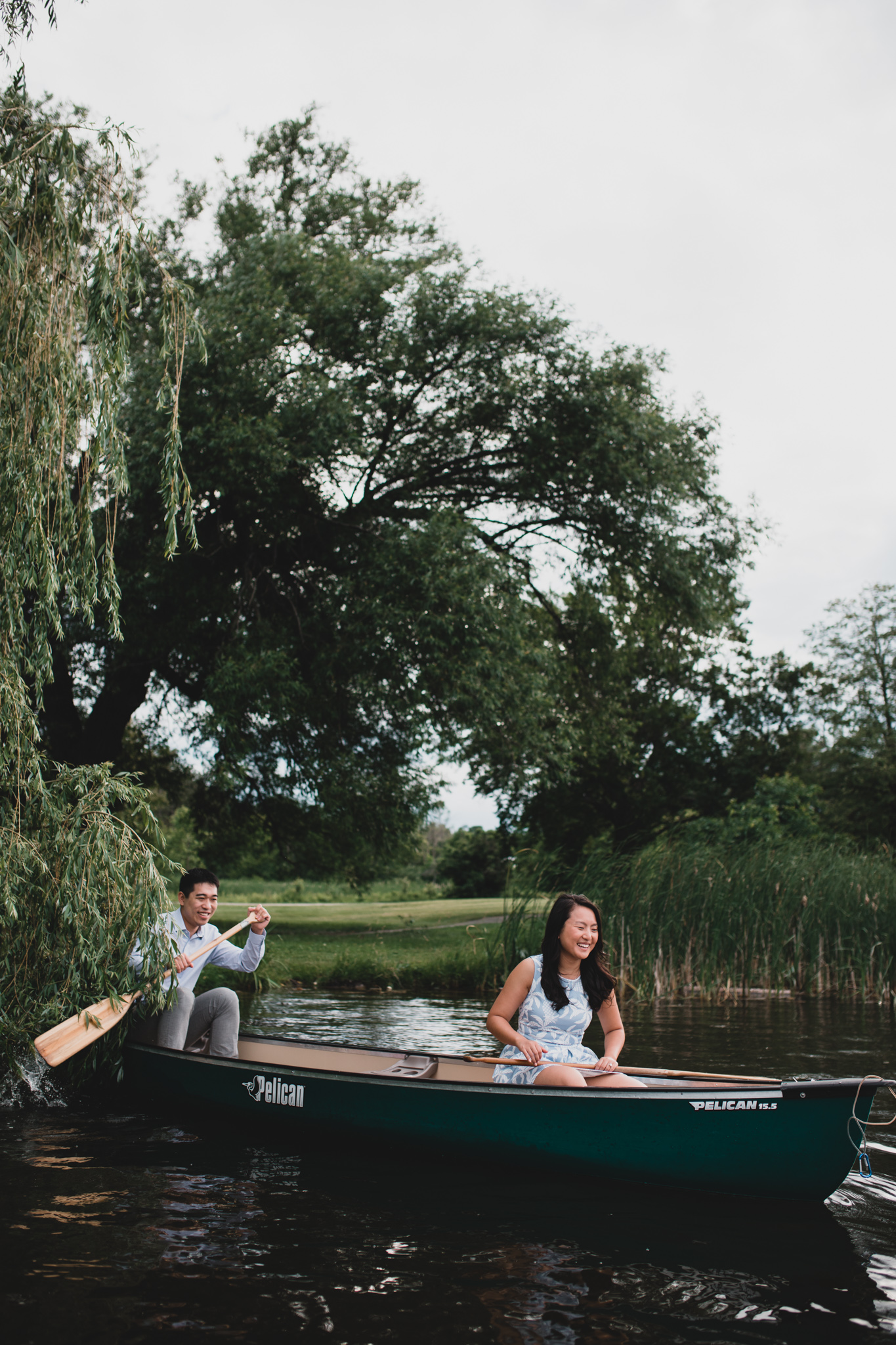 Dows Lake Engagement Photos