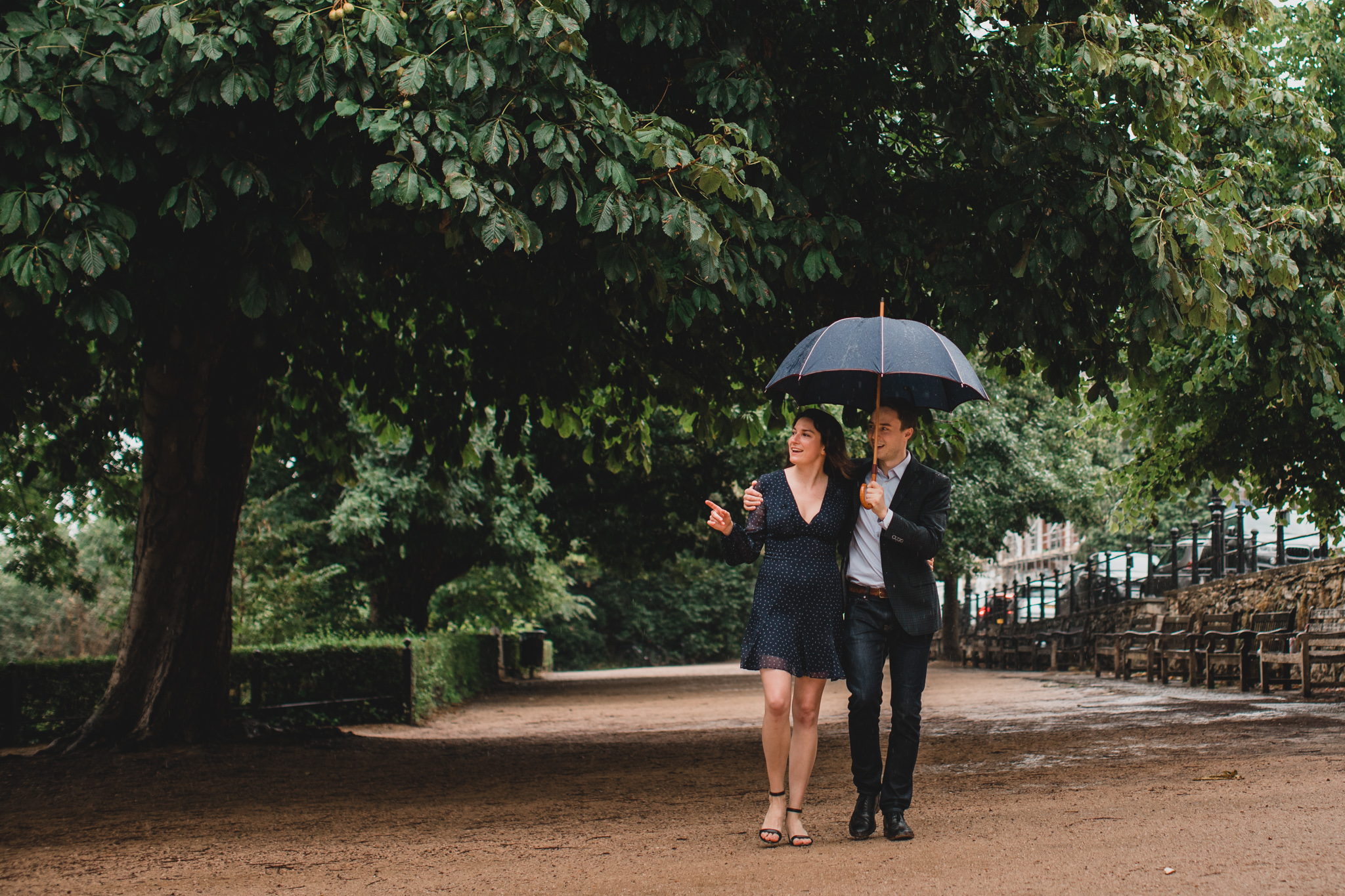 Richmond, England Engagement Session
