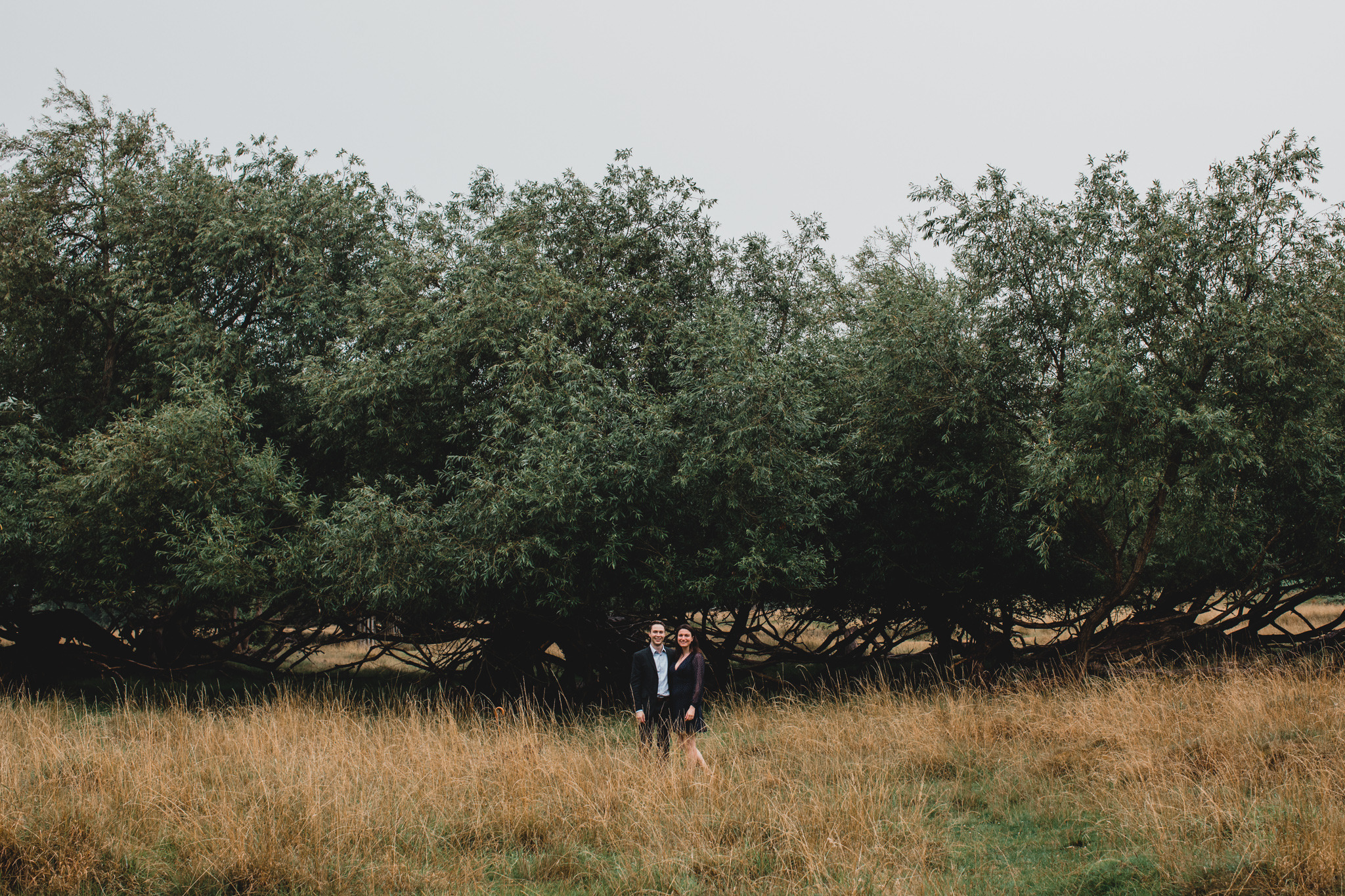 London England Outdoorsy Engagement Shoot