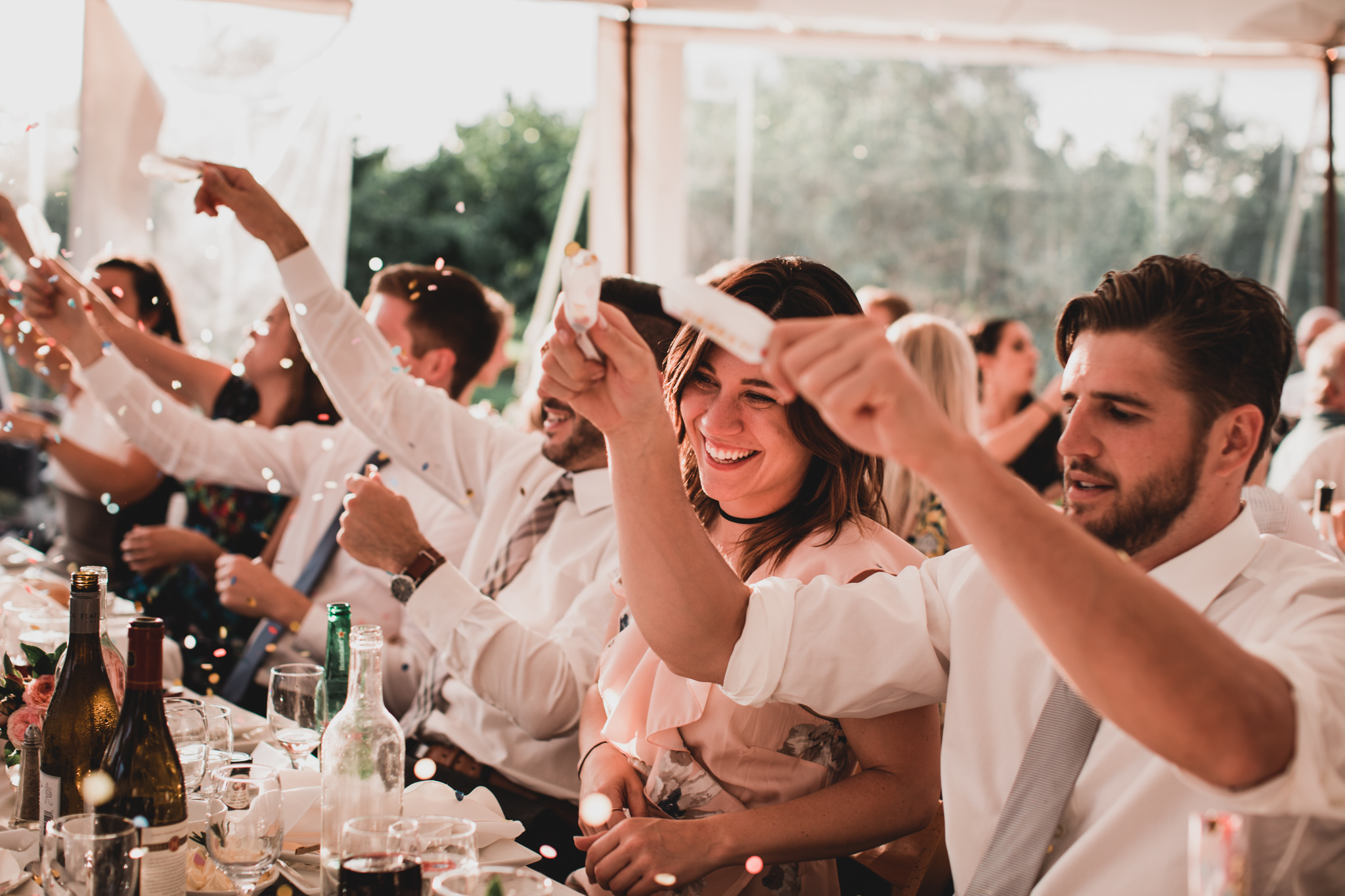 Wedding, Crackers & Confetti