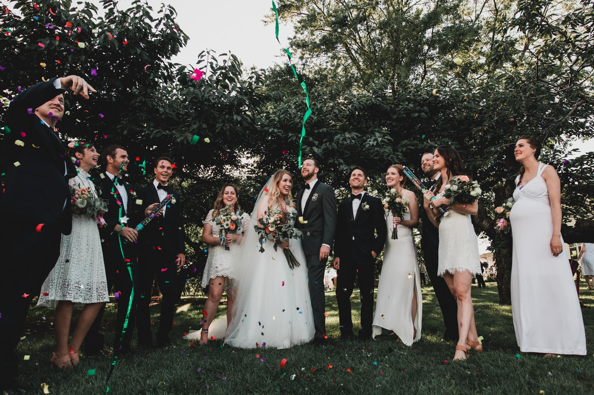Confetti Portraits, Wedding