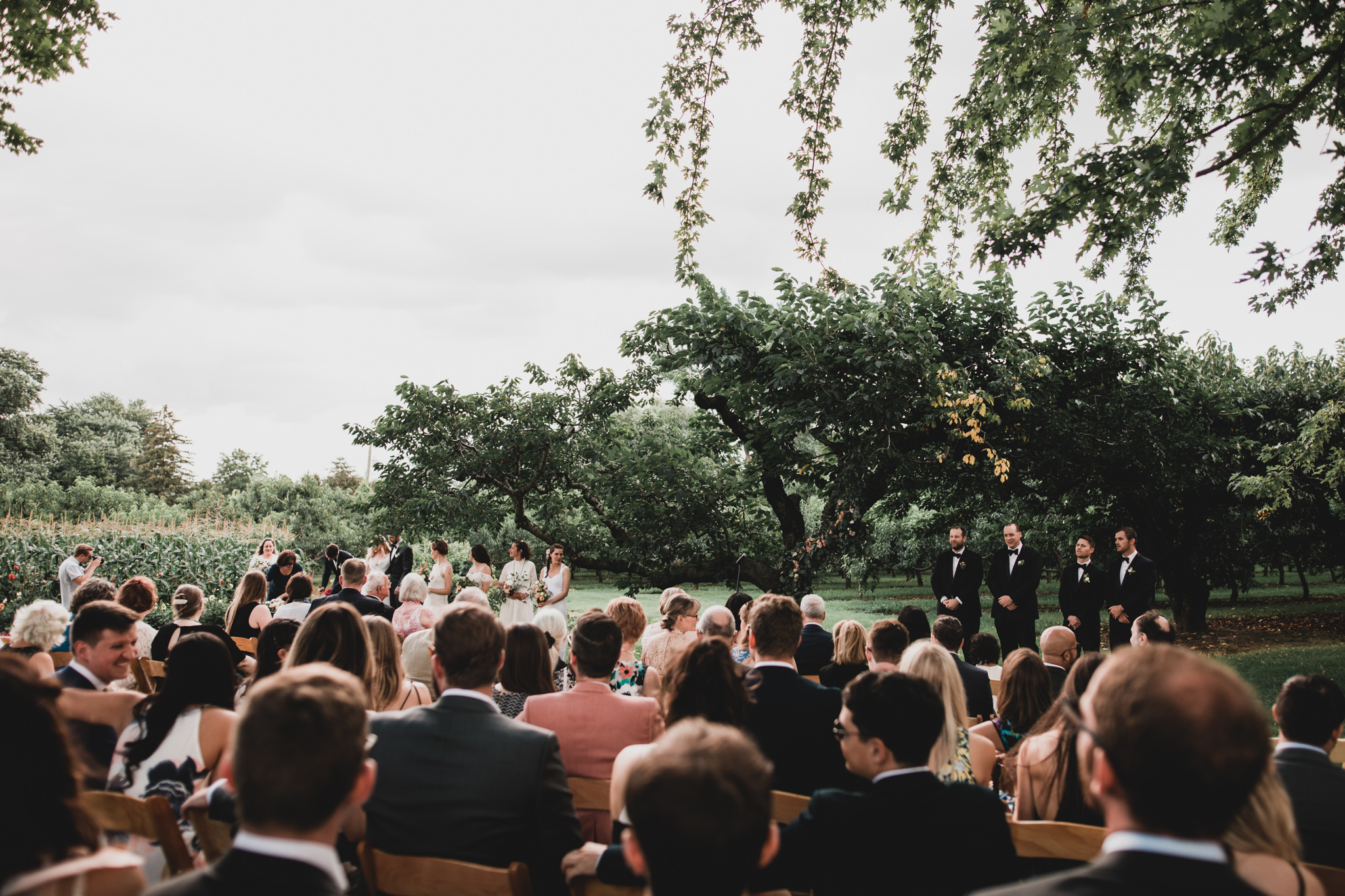 Outdoor, natural wedding photos