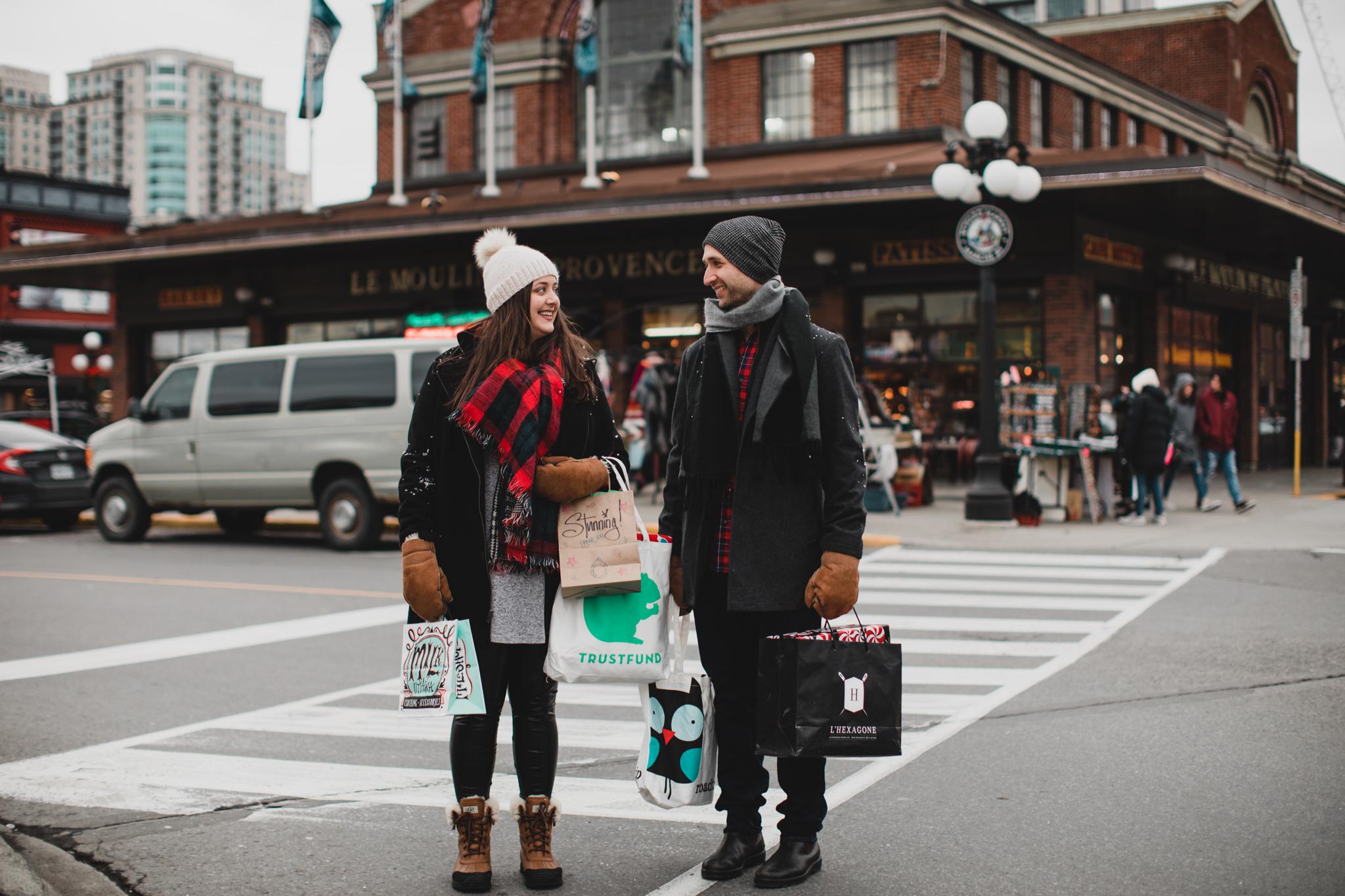 Byward market shopping