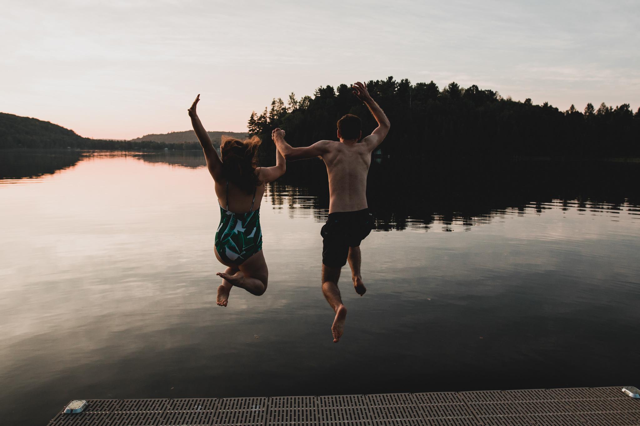 Lakeside Engagement Photos, Gatineau Ottawa