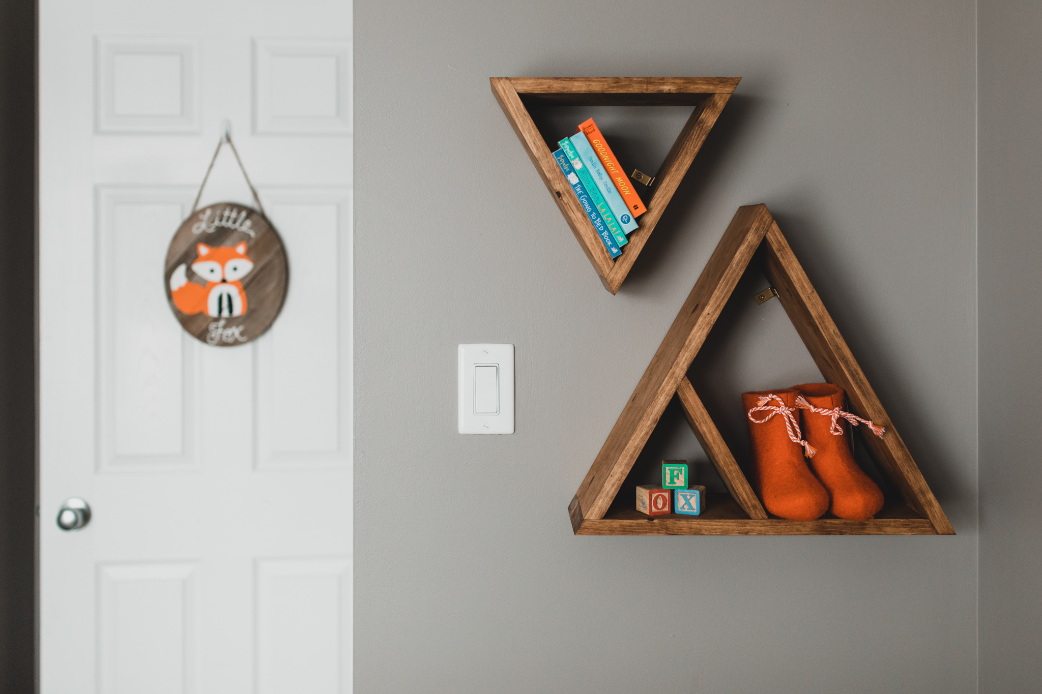 Fox Themed Nursery Decor