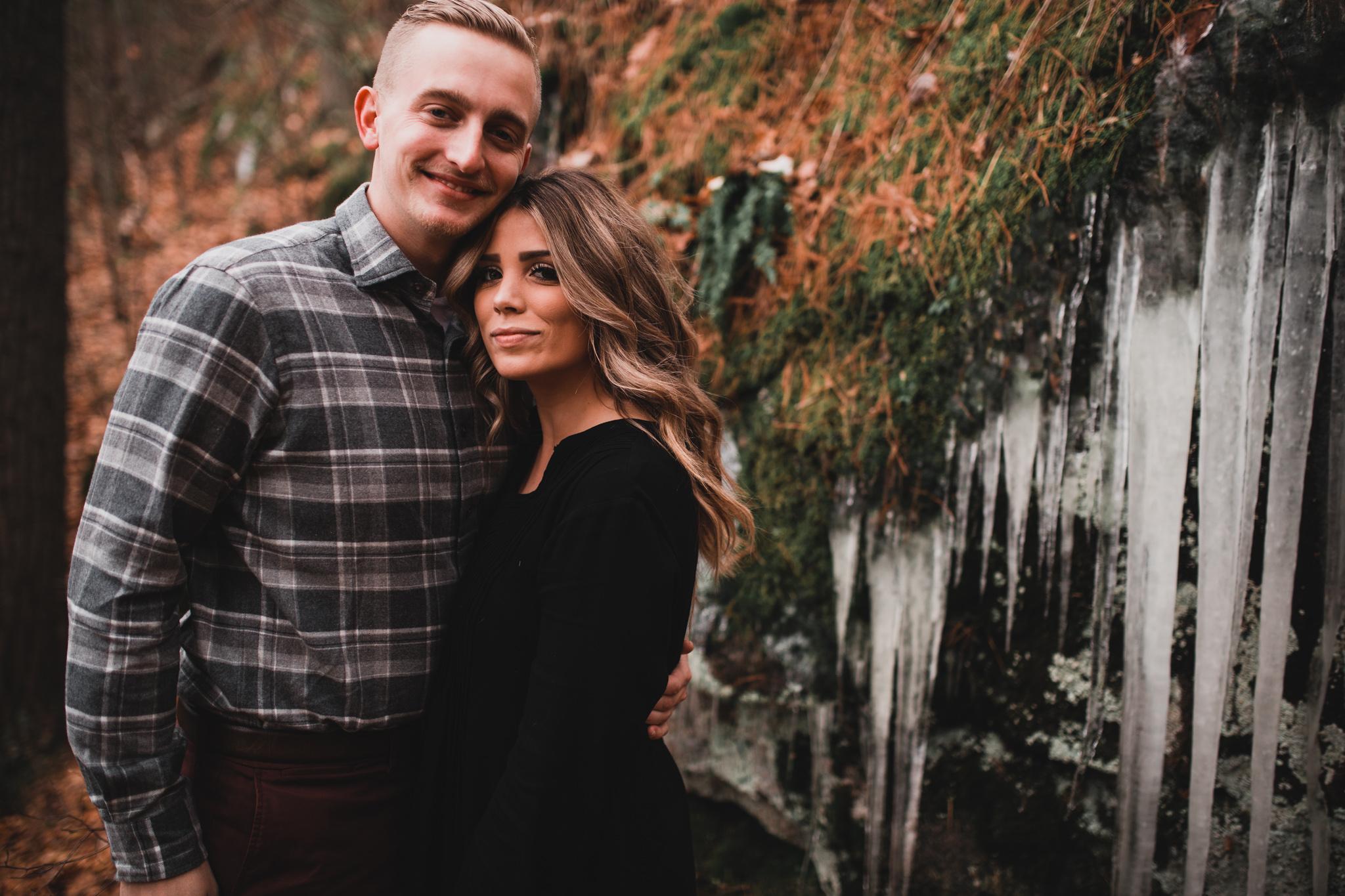 Canadian Fall Engagement Photos