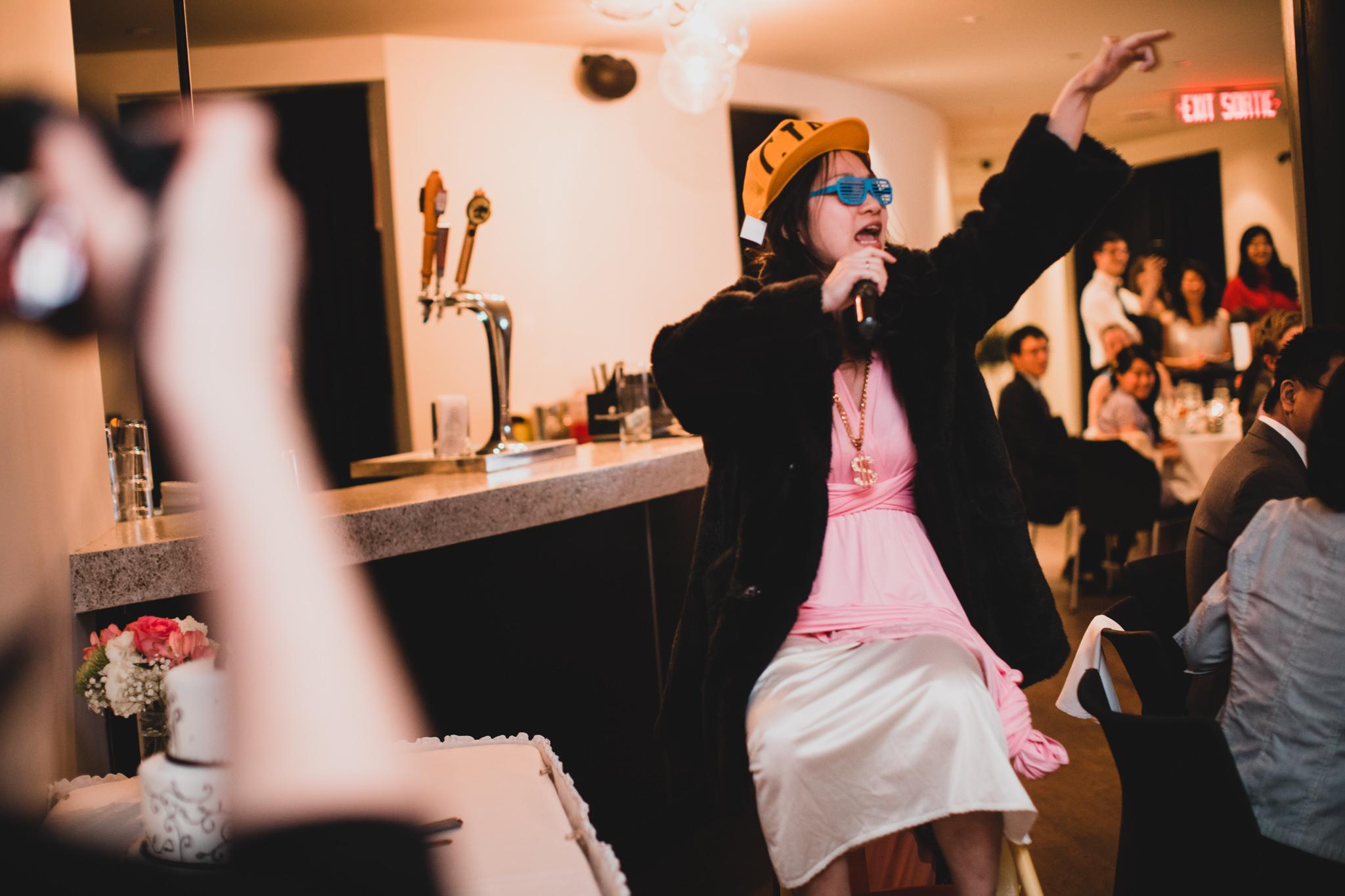 Maid of Honour Rap Speech