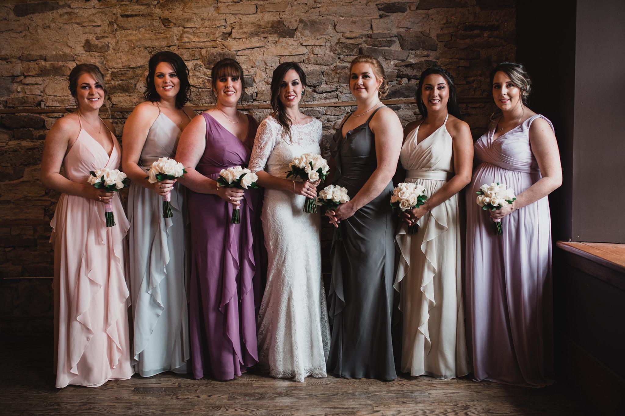 Rainy Perth Wedding, Lanark