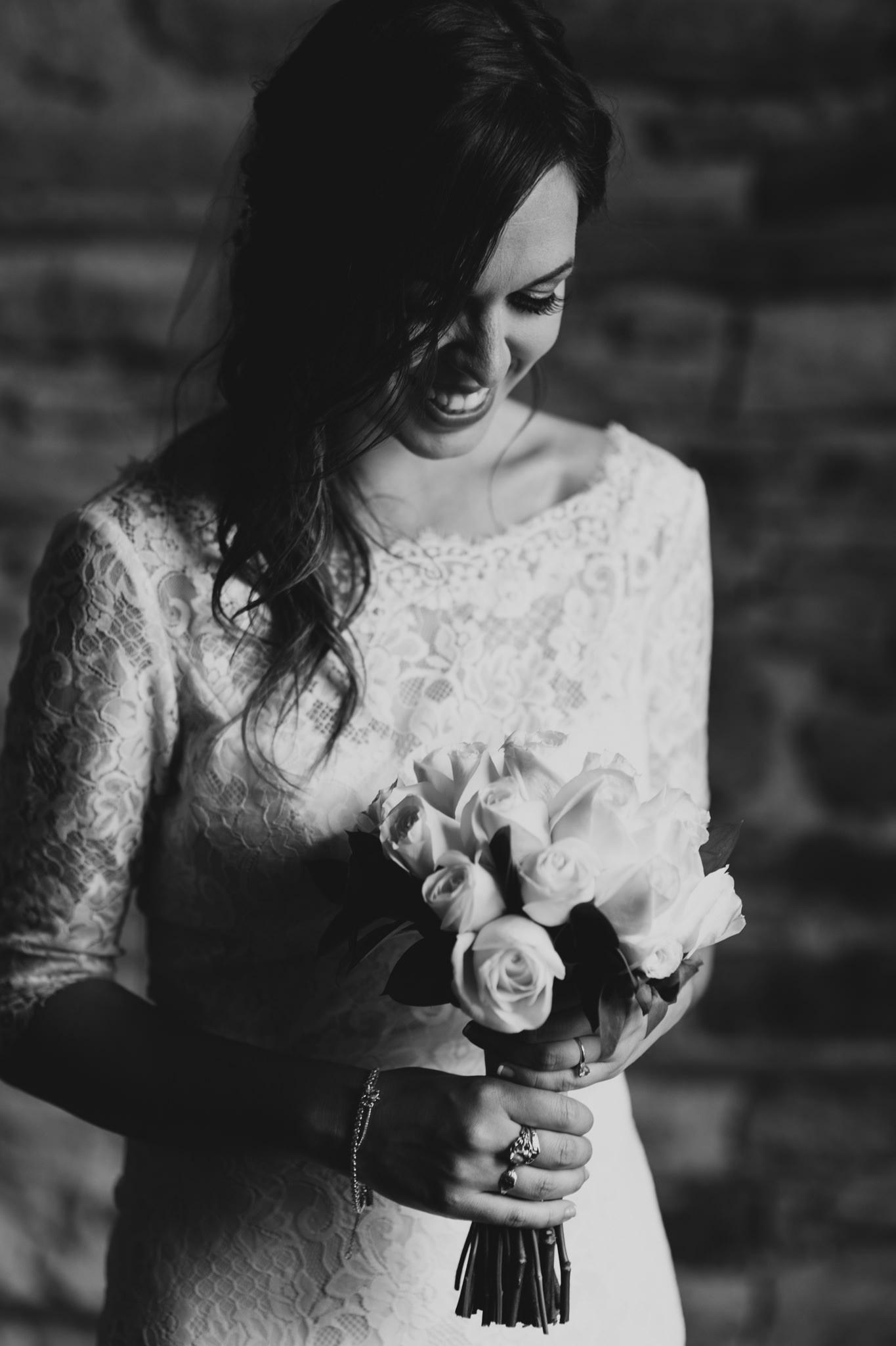 Classy Black and White Wedding