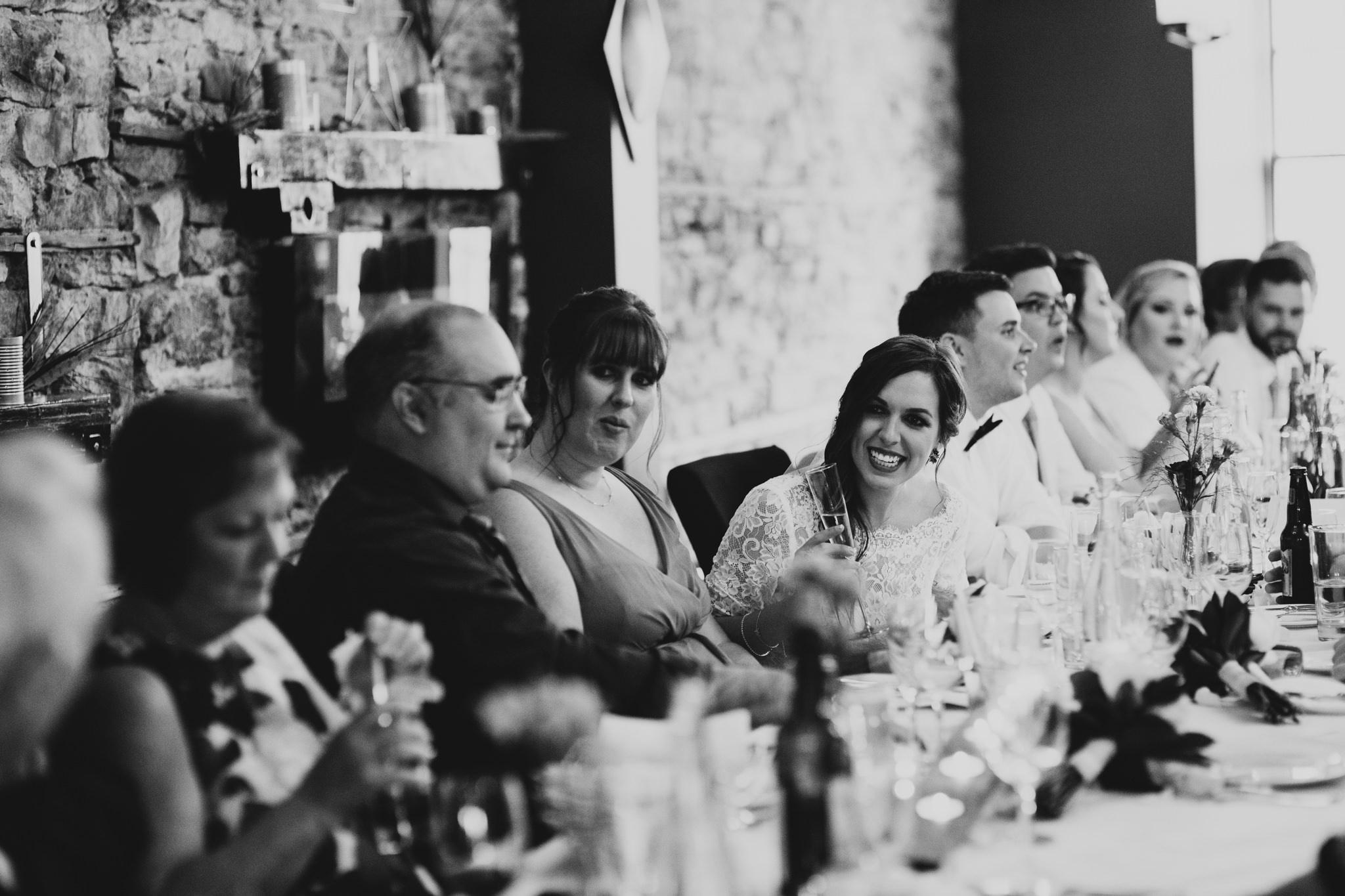 Natural, Candid wedding photographer, Lanark