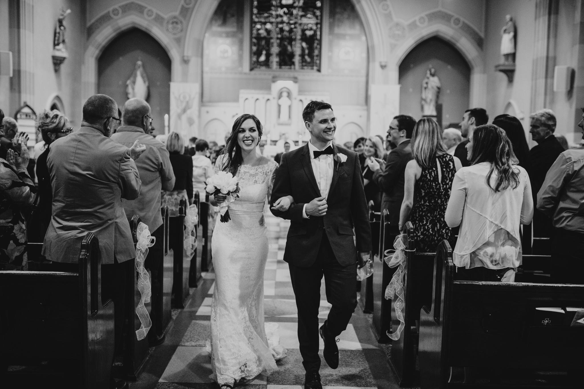 Catholic Church Wedding, Lanark county