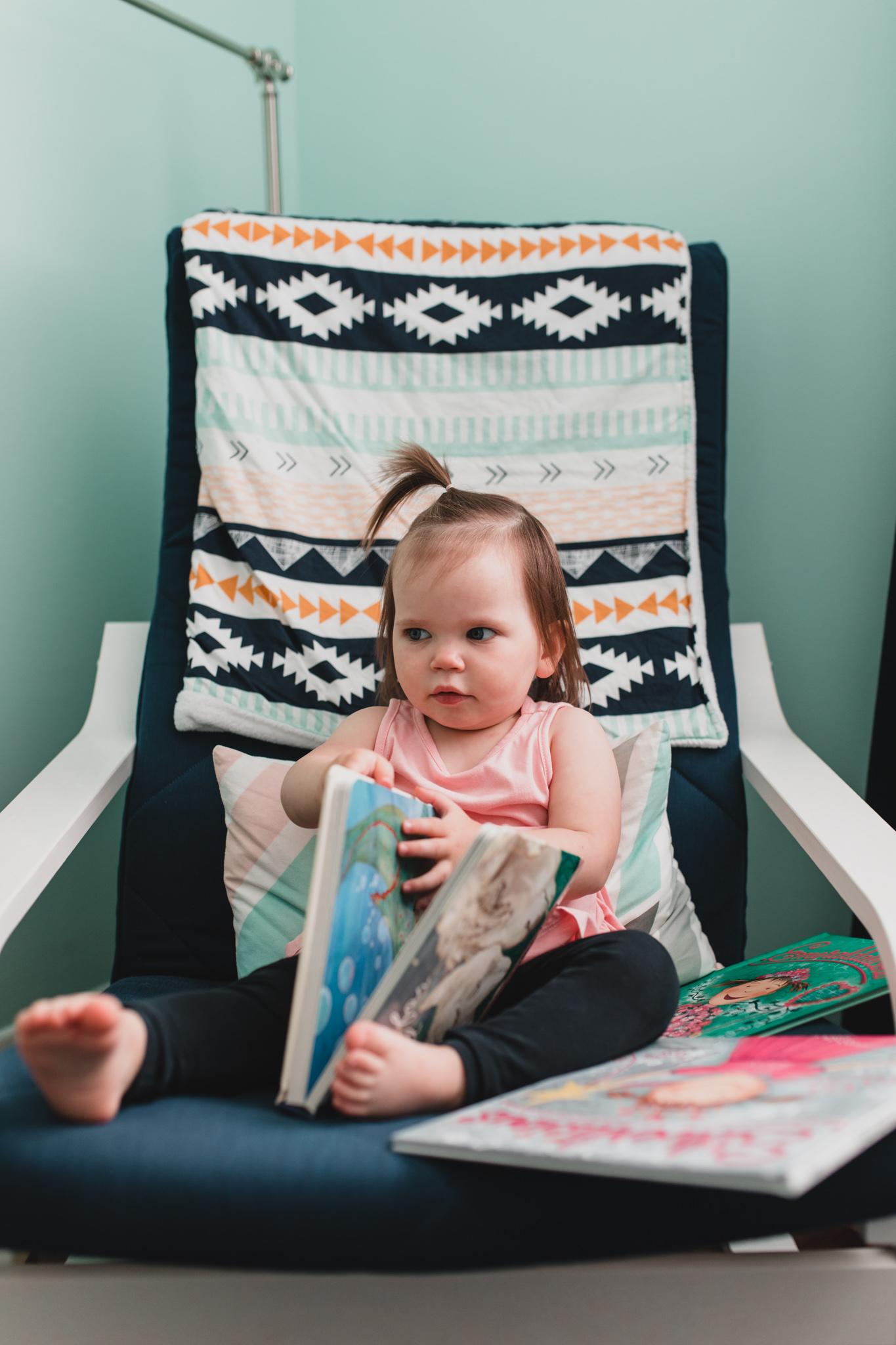 Kid Reading Corner