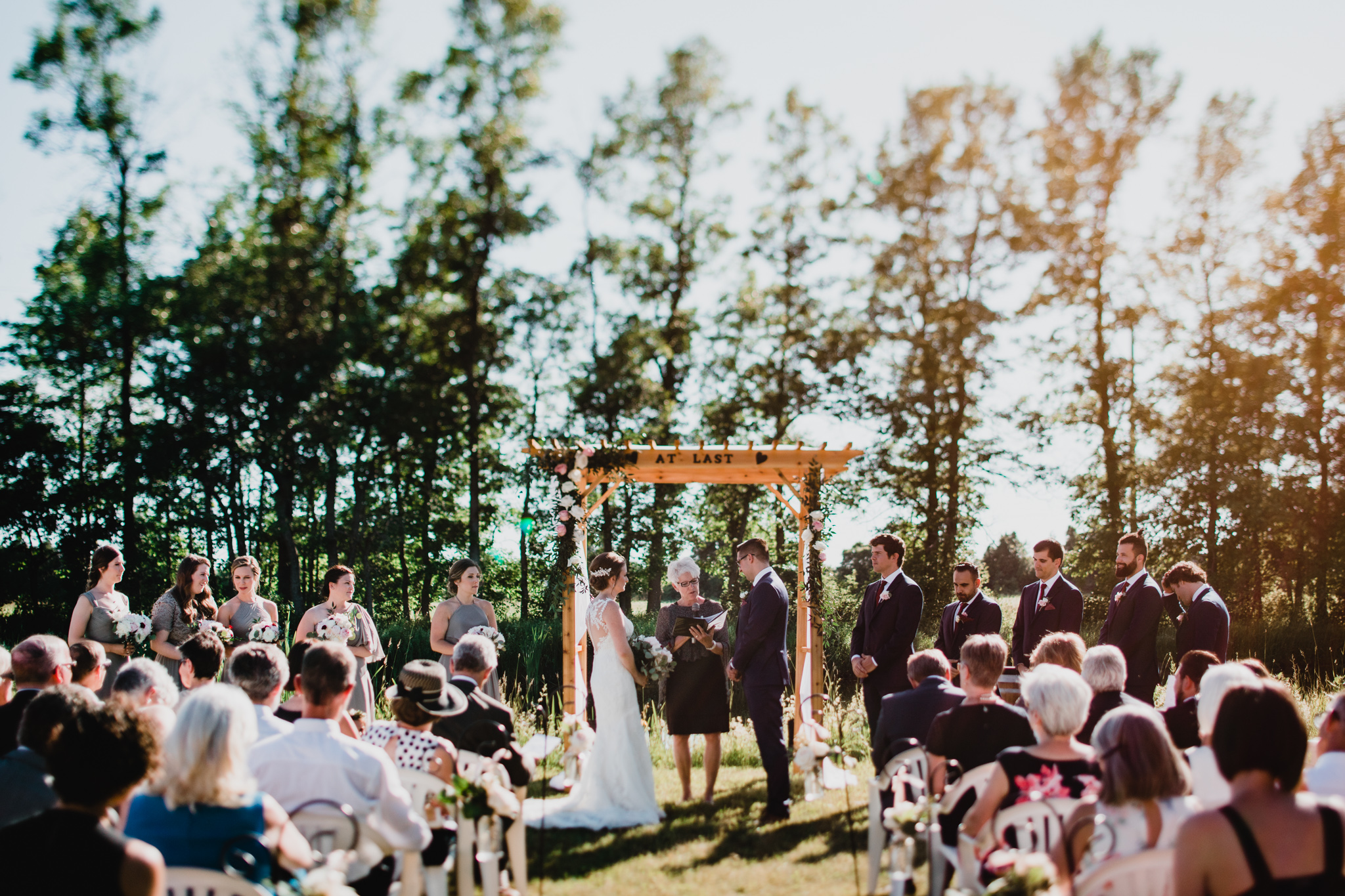Outdoor Ottawa Wedding, Countryside