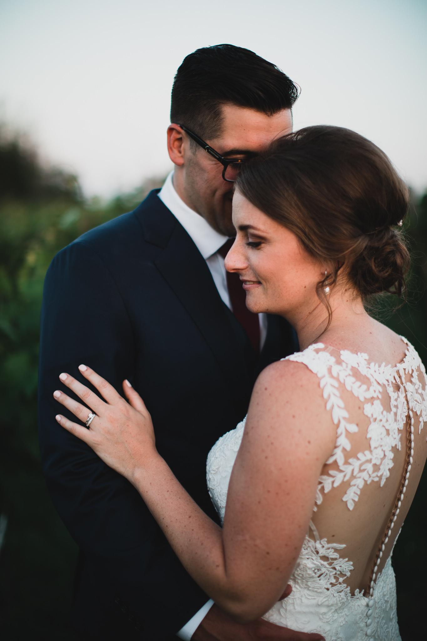 Intimate wedding photography, Lanark