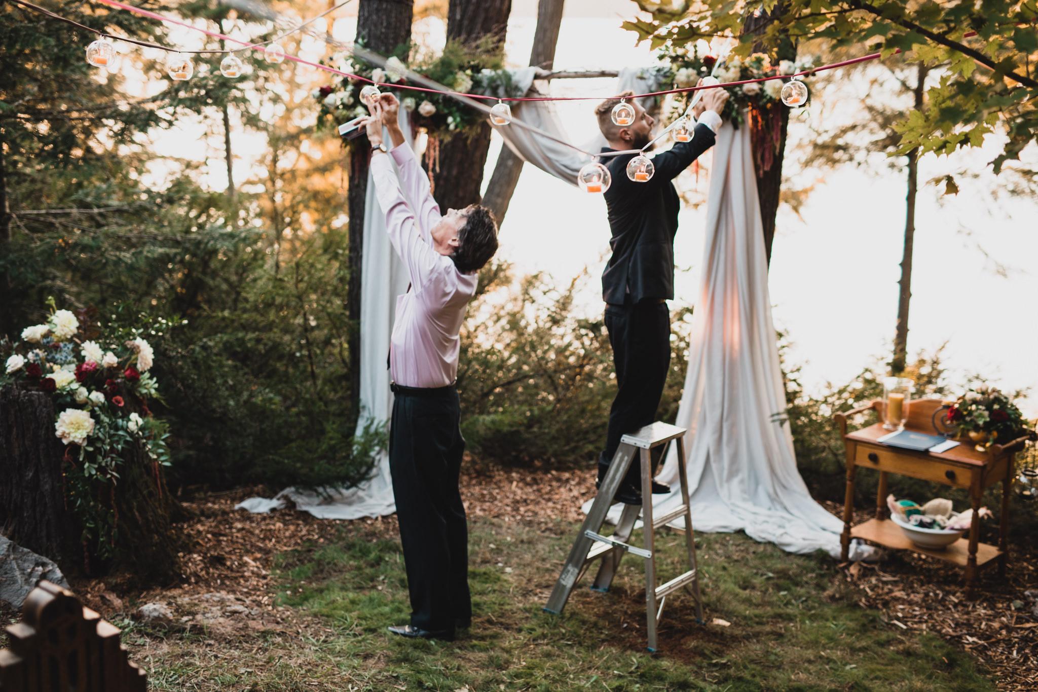 Cottage Wedding