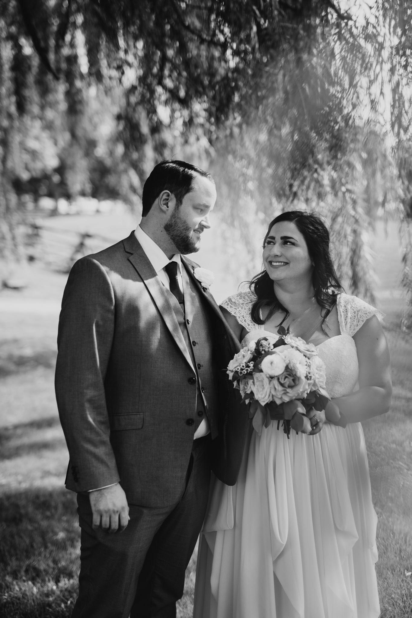 Vintage styled, wedding photography