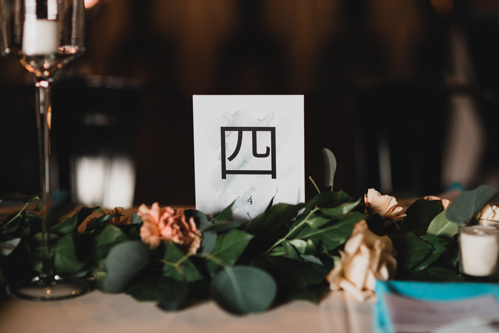 Chinese Dinner Table Numbers