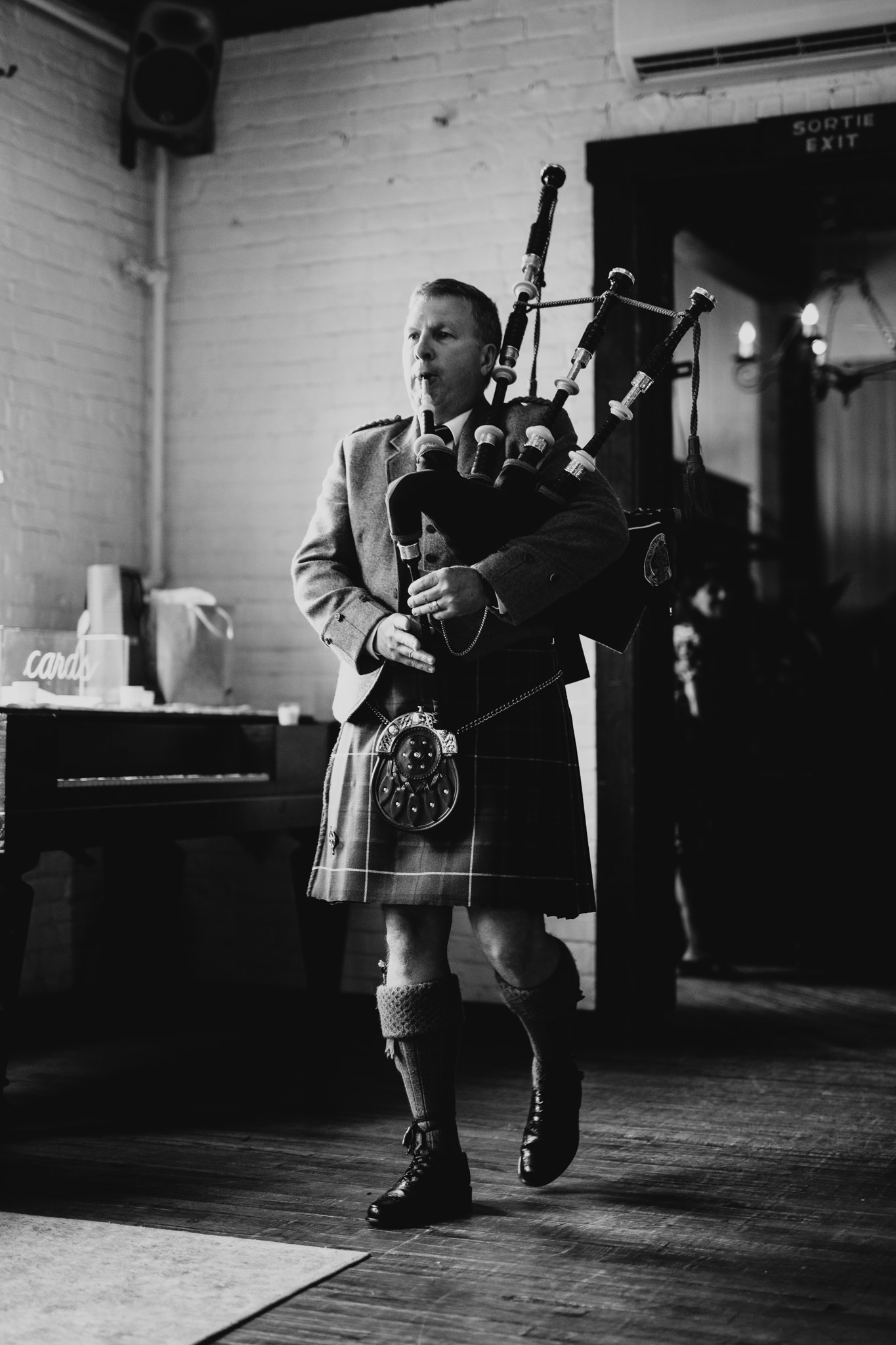 Scottish Bagpipies, theme wedding