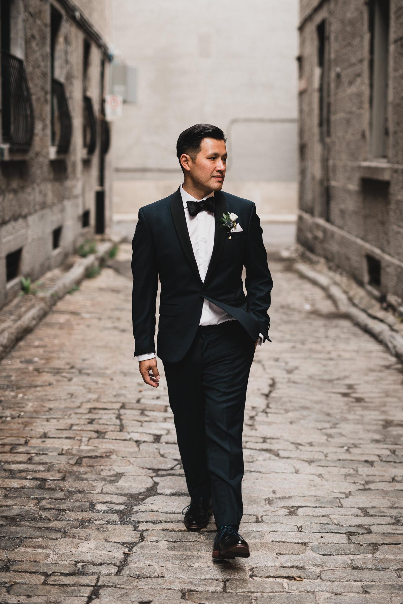Classy groomsmen portrait