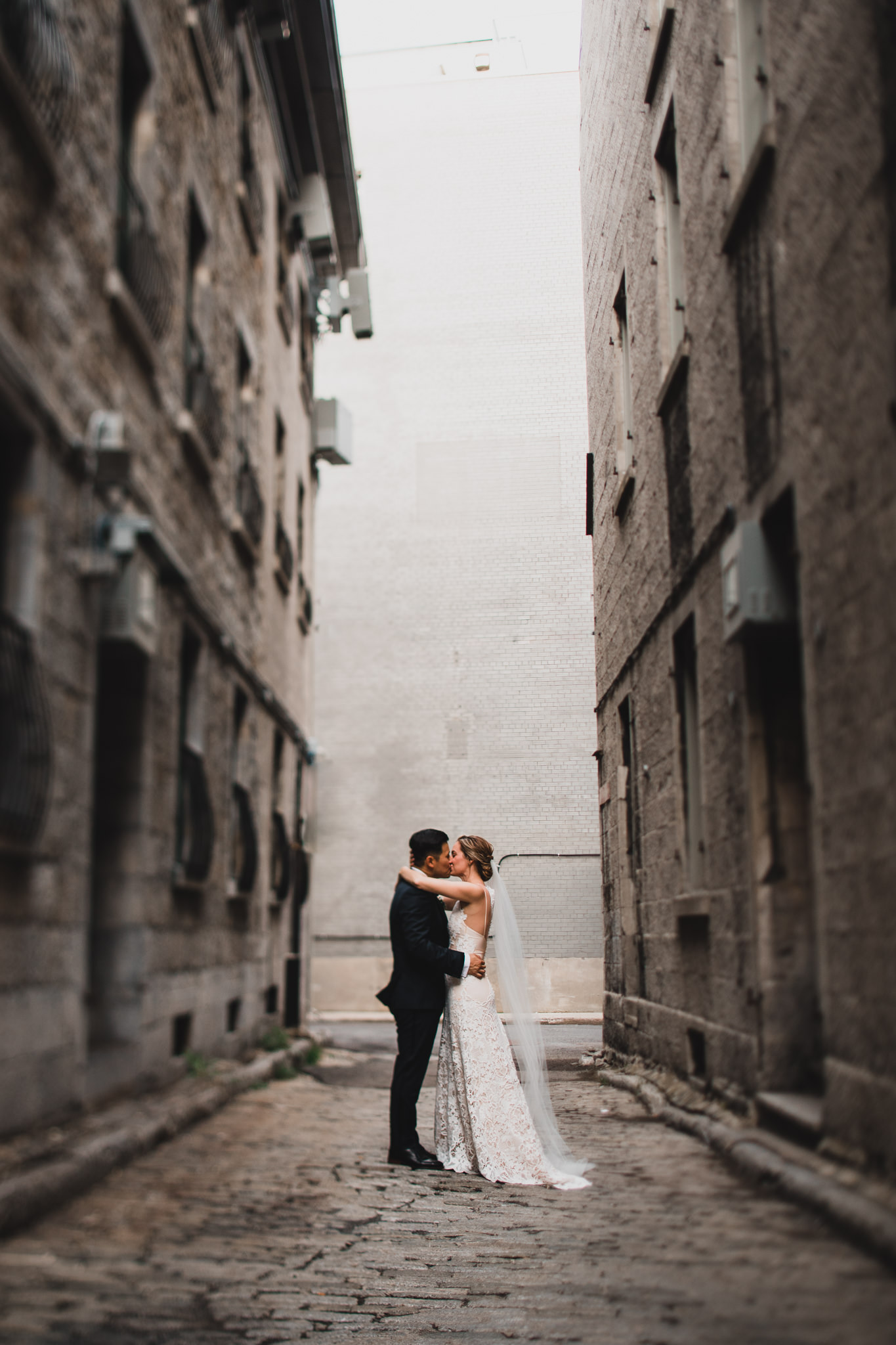 Old Montreal, alternative wedding