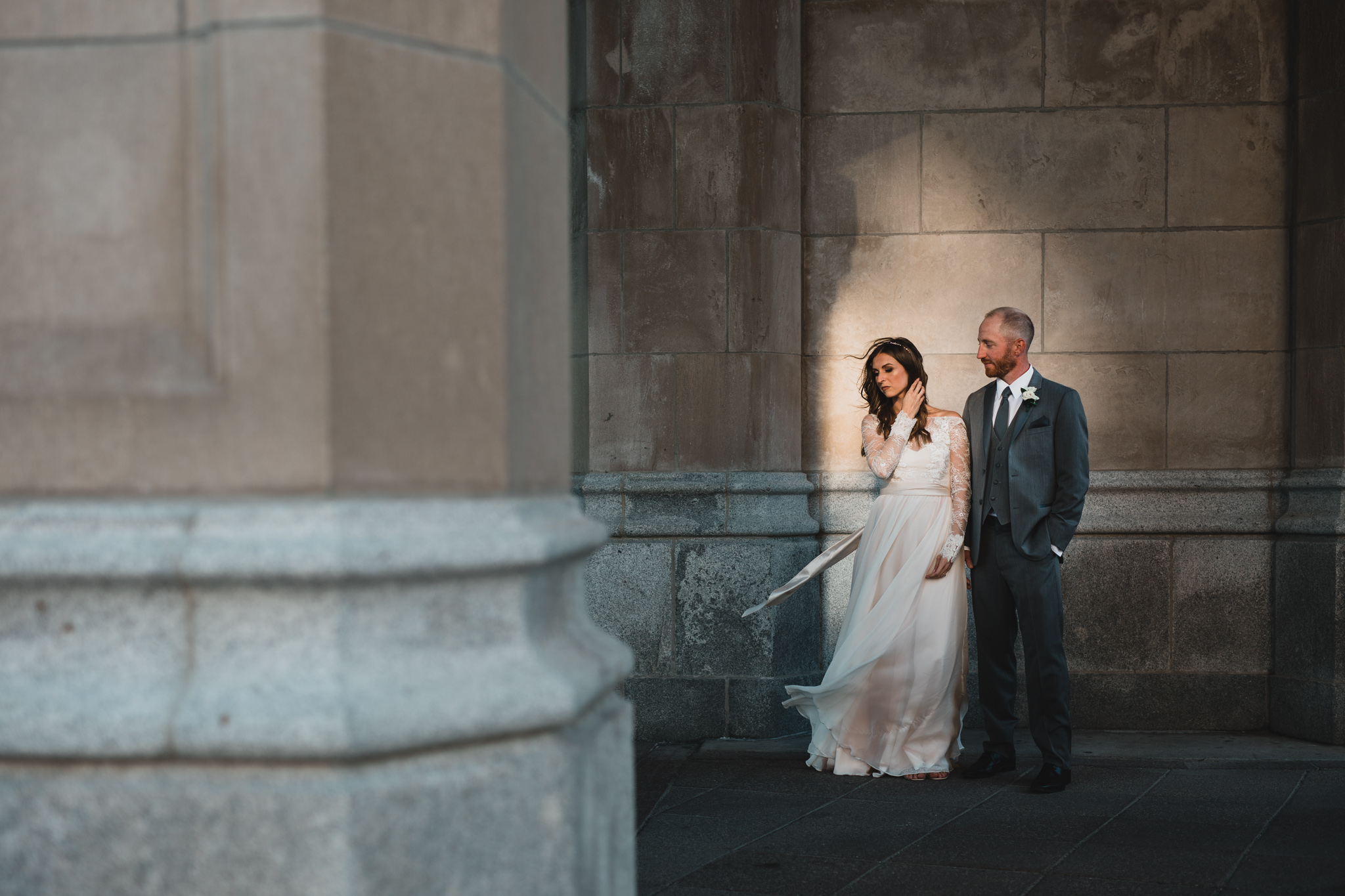 Creative Eastern Ontario wedding photographer, Chateau Laurier