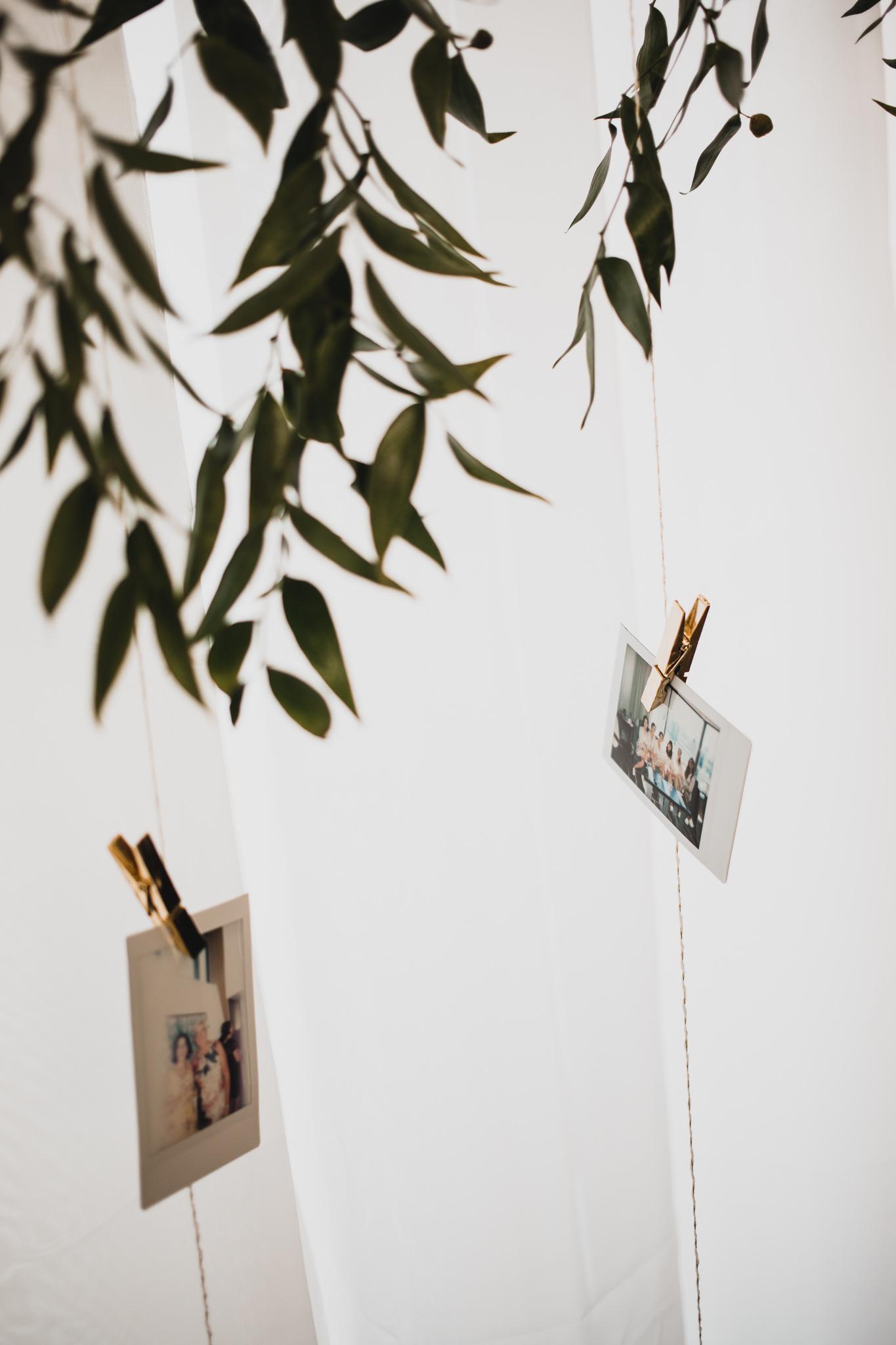 Polaroid Guestbook Wall