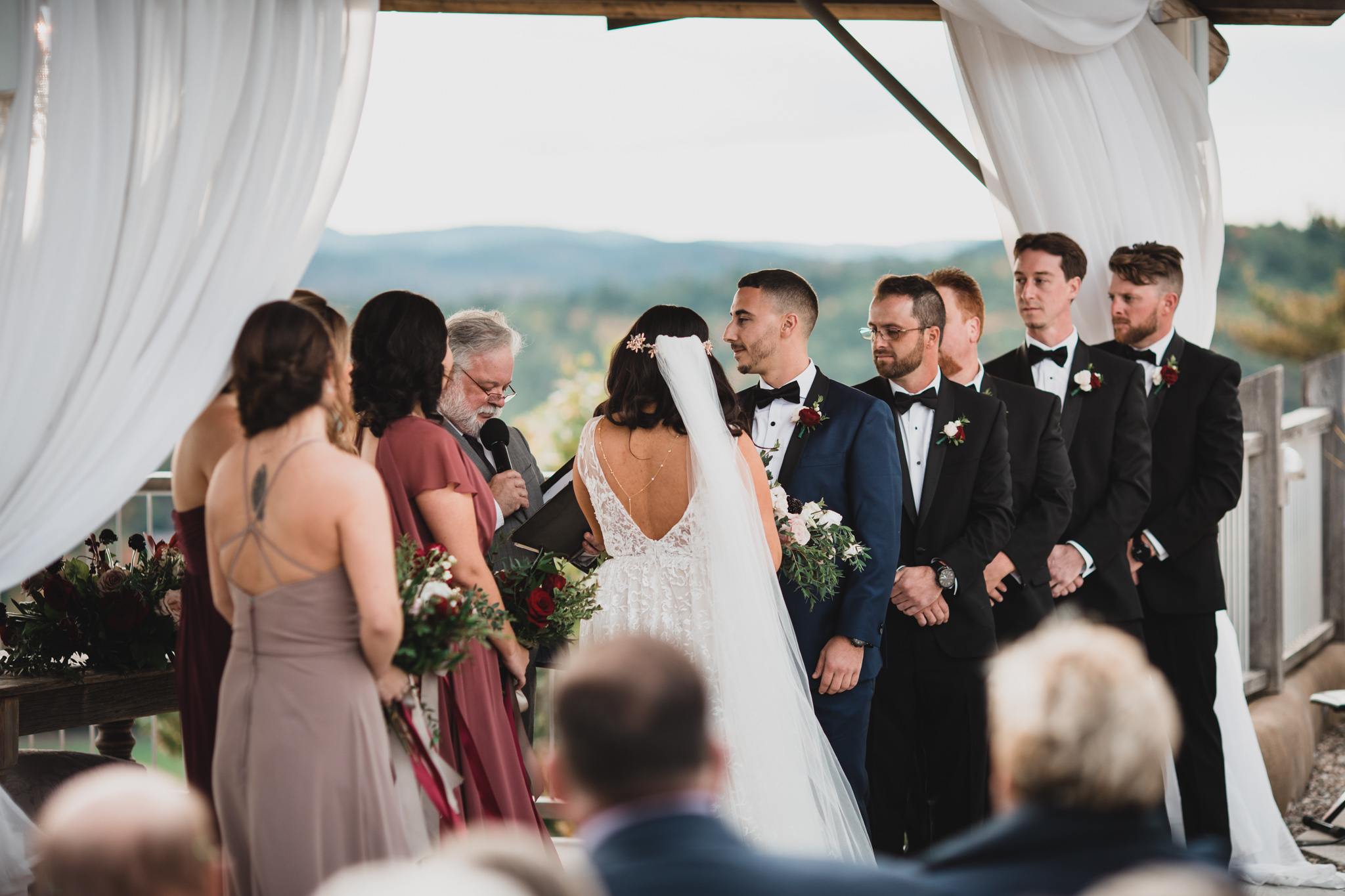 Le Belvedere Outdoor Ceremony