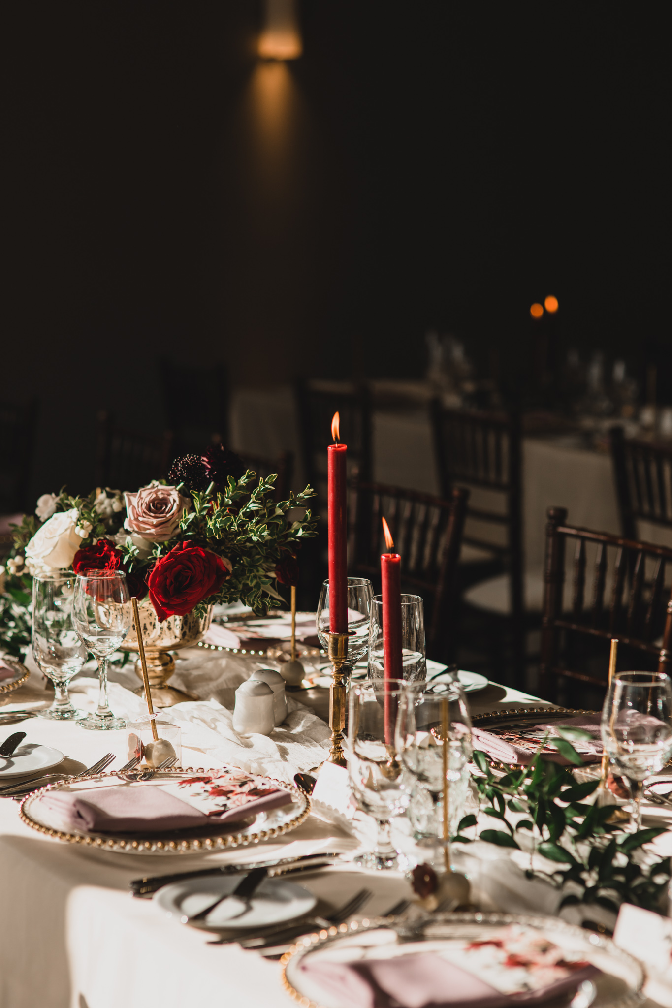 Moody, romantic Ottawa wedding