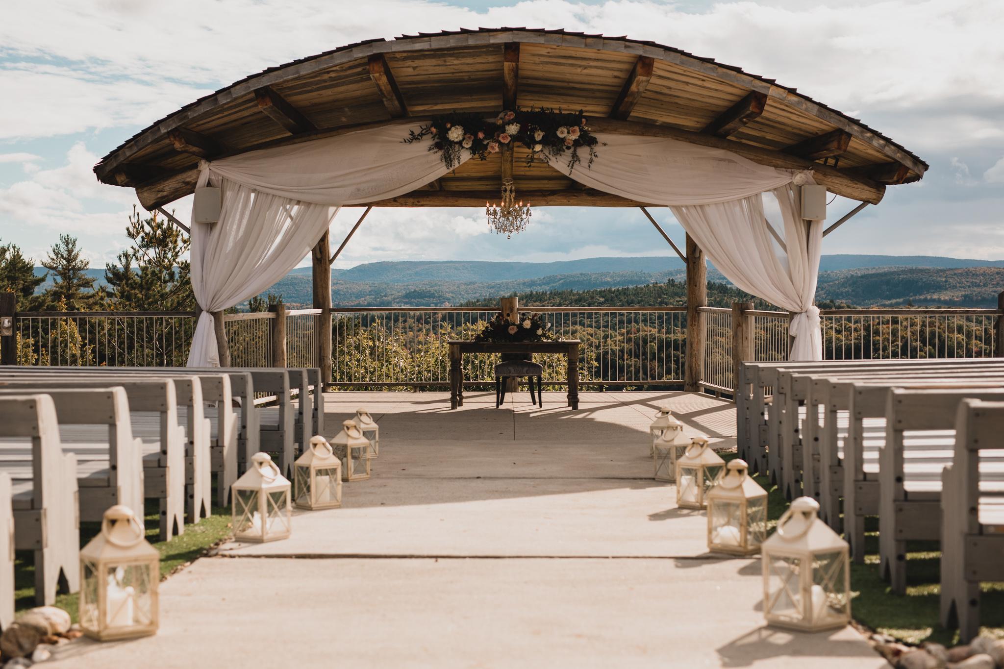 Outdoor wedding ceremony venue - Ottawa and Gatineau