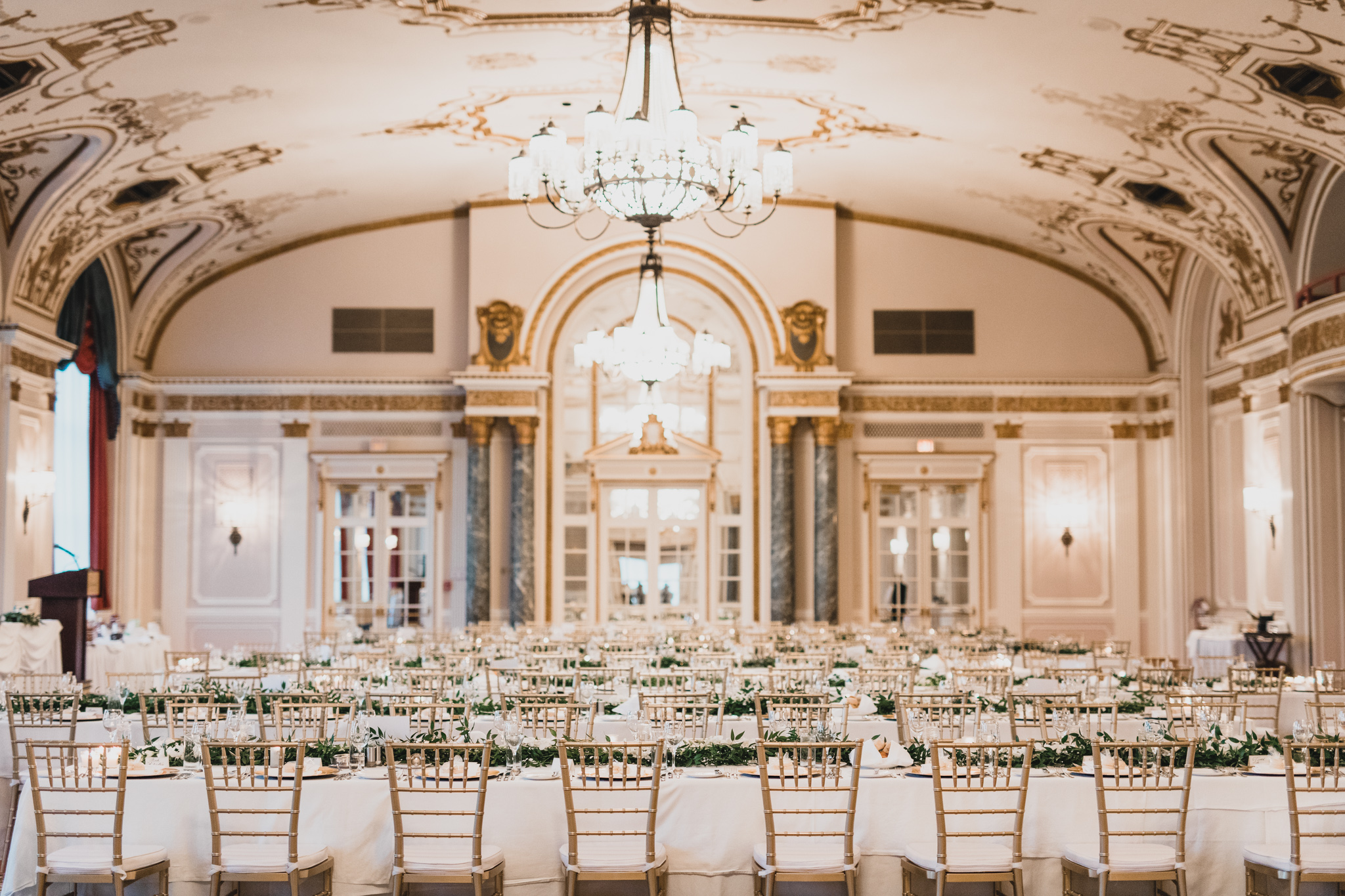 Chateau Laurier Ballroom - wedding reception