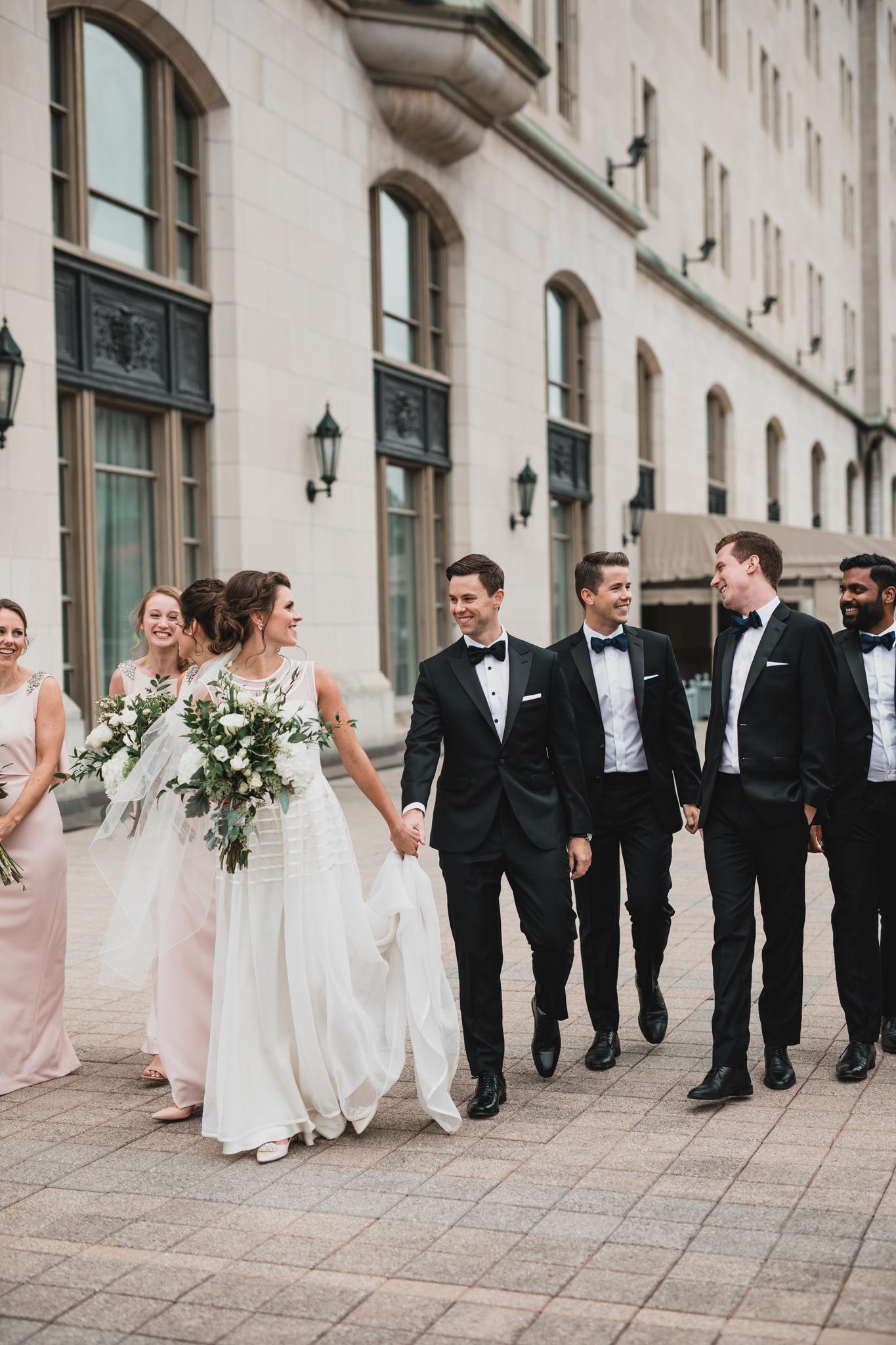 Classy Ottawa wedding