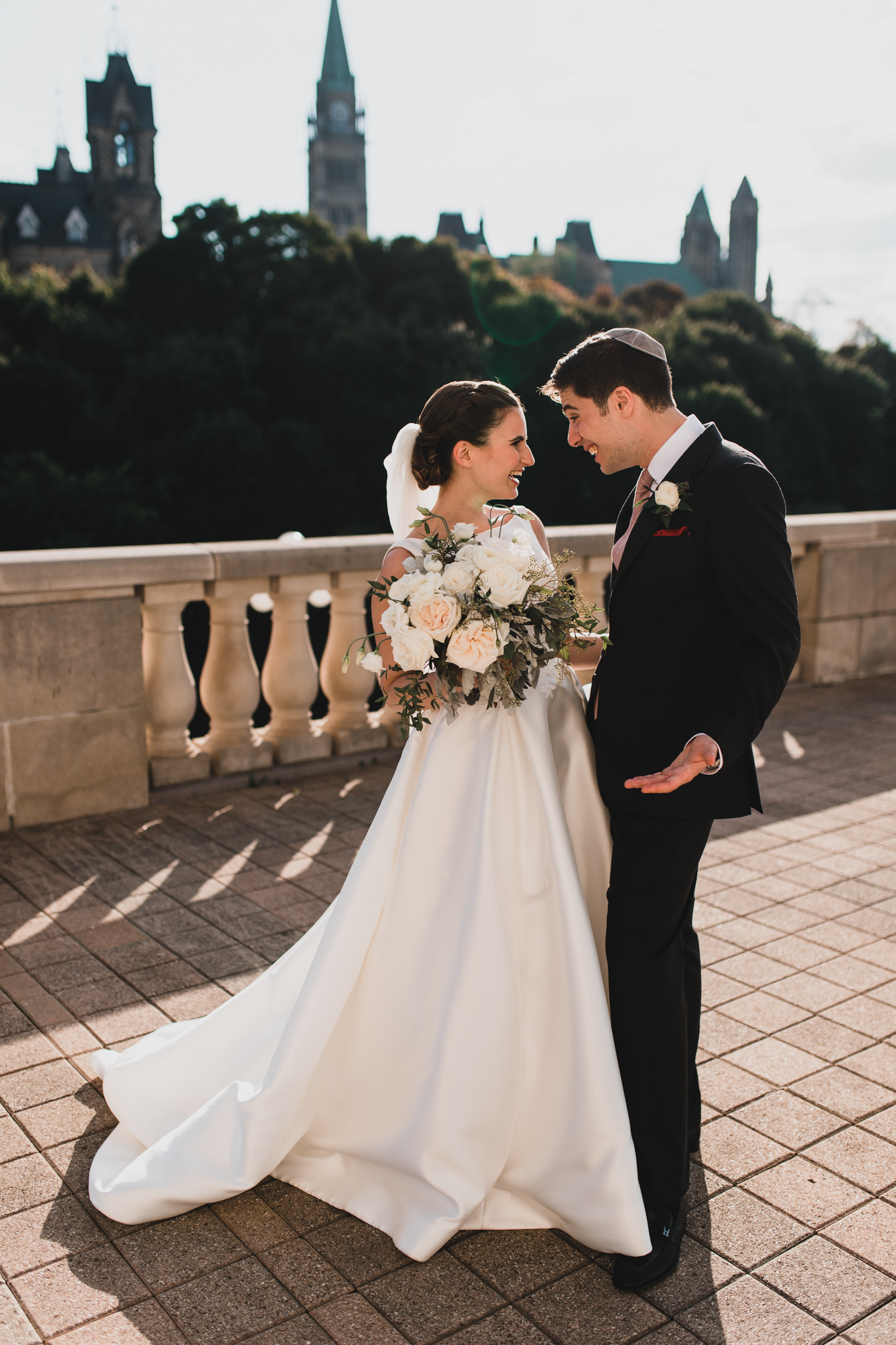 Ottawa's Fairmont Laurier Wedding