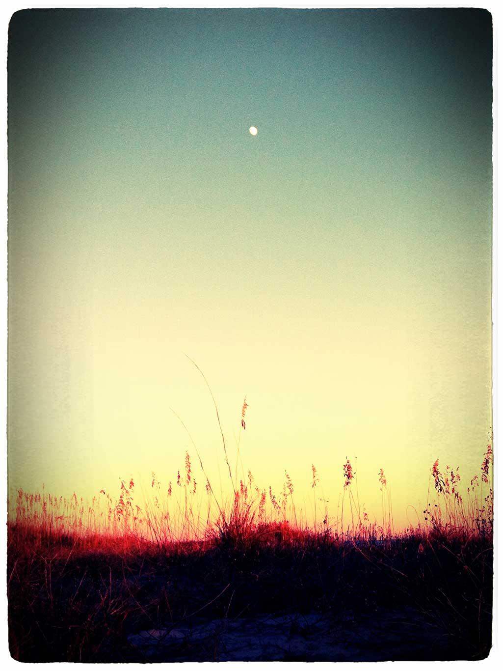 Moon Over Folly, Charleston
