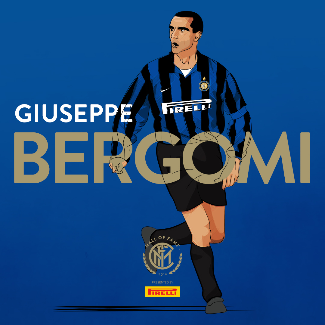 """GIUSEPPE BERGOMI   A  one-club man , Bergomi held the record of  most appearances  for the club for several years, while also being the side's longtime  captain . He was affectionately referred to as  """"Lo zio""""  (""""the  uncle """") because of his bushy eyebrows and the impressive  moustache  he wore even as a youngster.  He is regarded as one of the greatest Italian  defenders  of all time, and as one of the best of his generation, being elected by  Pelé  to be part of the  FIFA 100  in 2004.  Bergomi currently works as a pundit at  Sky Sports Italia  and frequently co-commentates on  Serie A  matches alongside  Fabio Caressa ."""