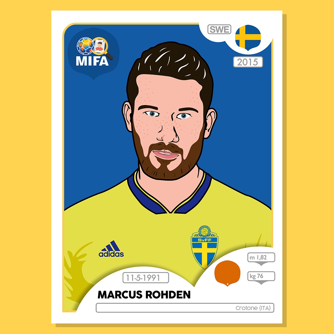 Marcus Rohden - Sweden - by Mark Hirons @bluedeerdesign