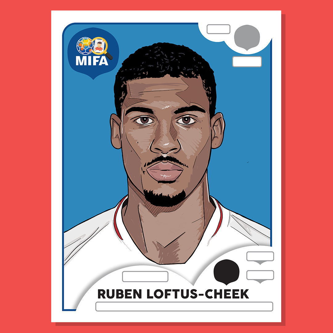 Ruben Loftus Cheek - England - by Mark Johnson @markjohnson_