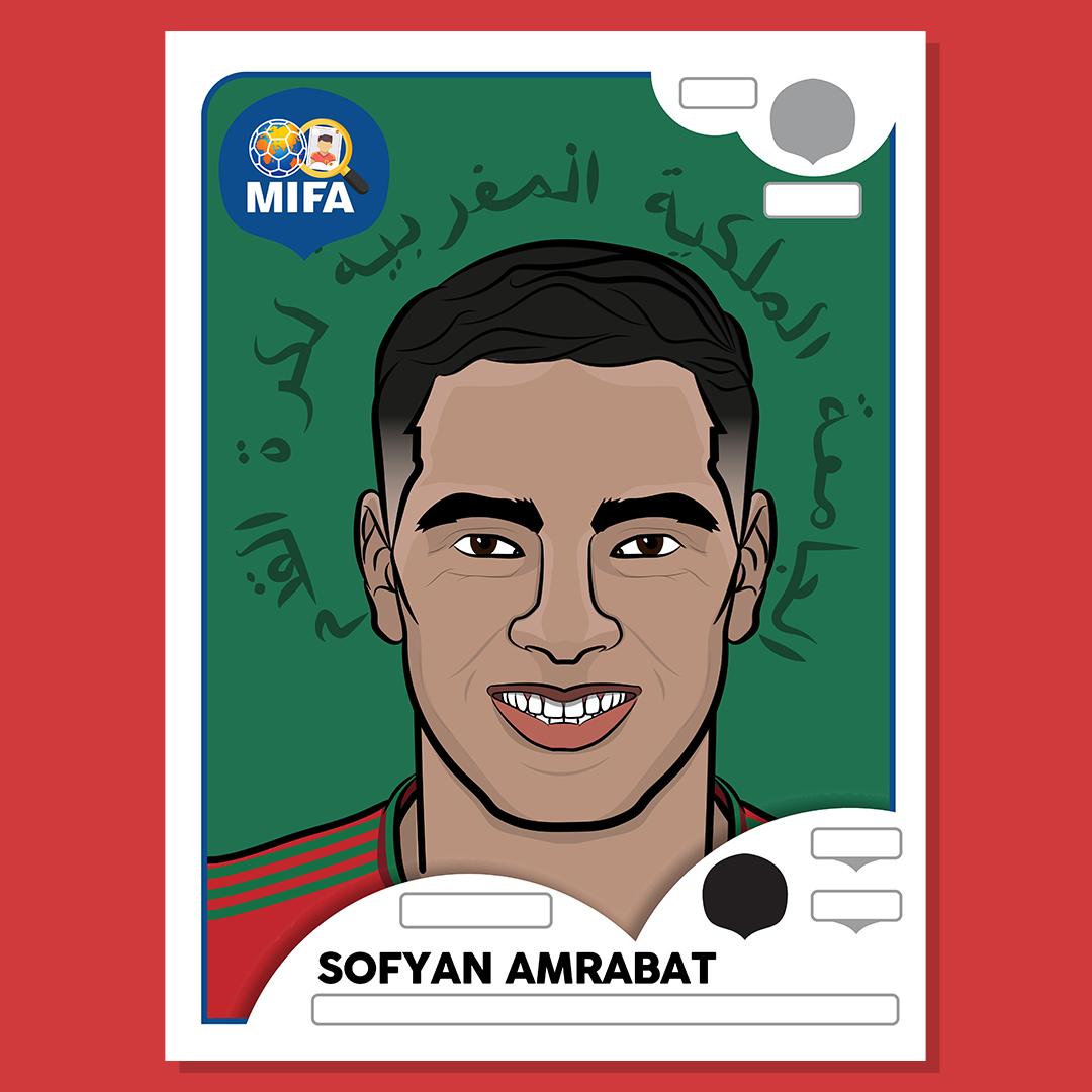Sofyan Amrabat - Morocco - by Teo Cejvanovic @oetsineepaa