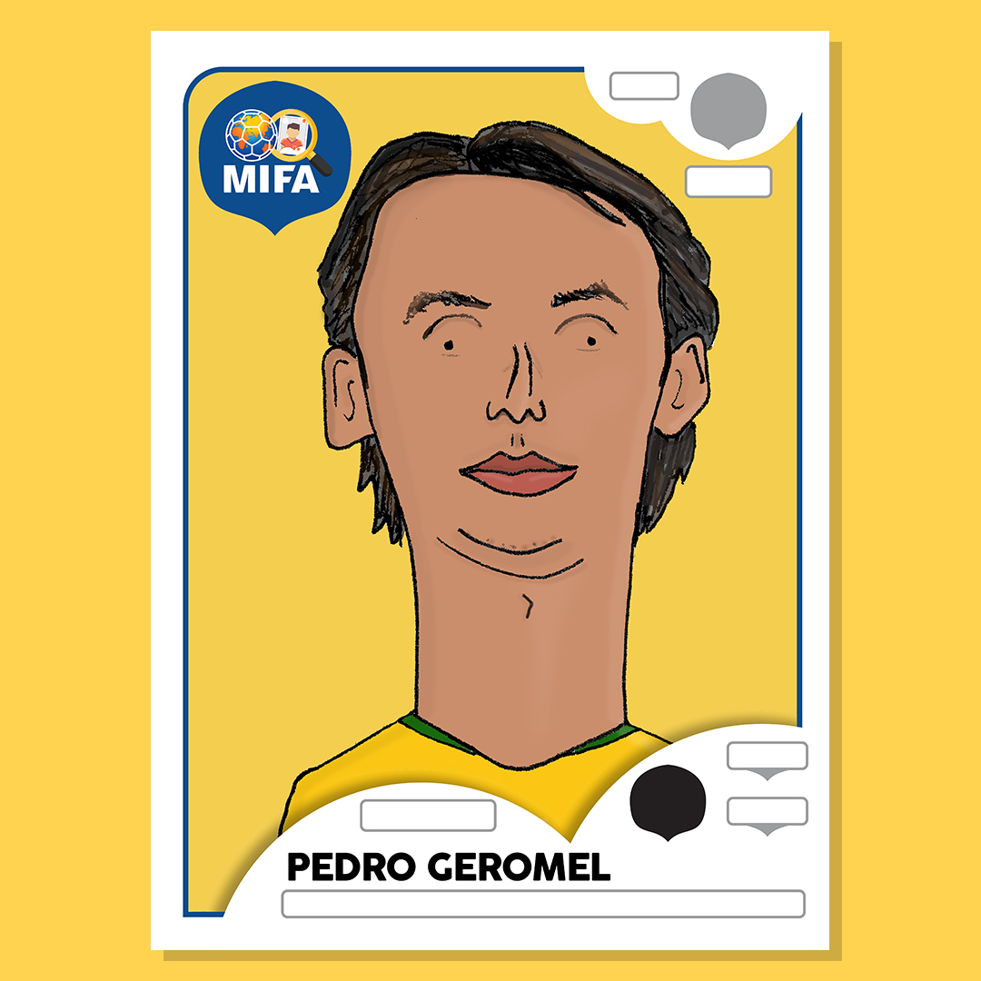 Pedro Geromel - Brazil - by Dreadfully Drawn @DreadfullyDrawn