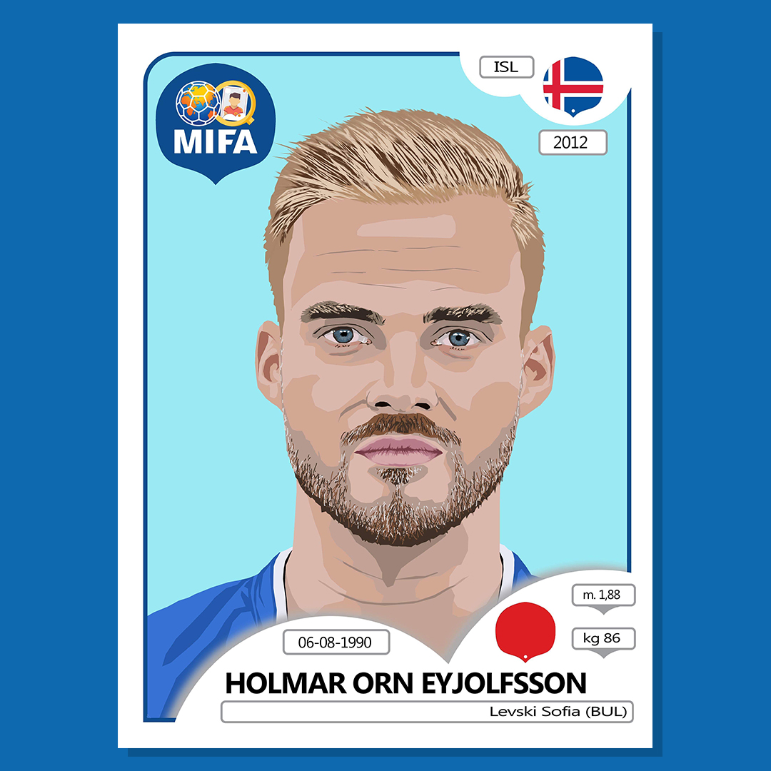 Holmar Orn Eyjofsson - Iceland - by Luke Edwards @lukeedwards_illustration