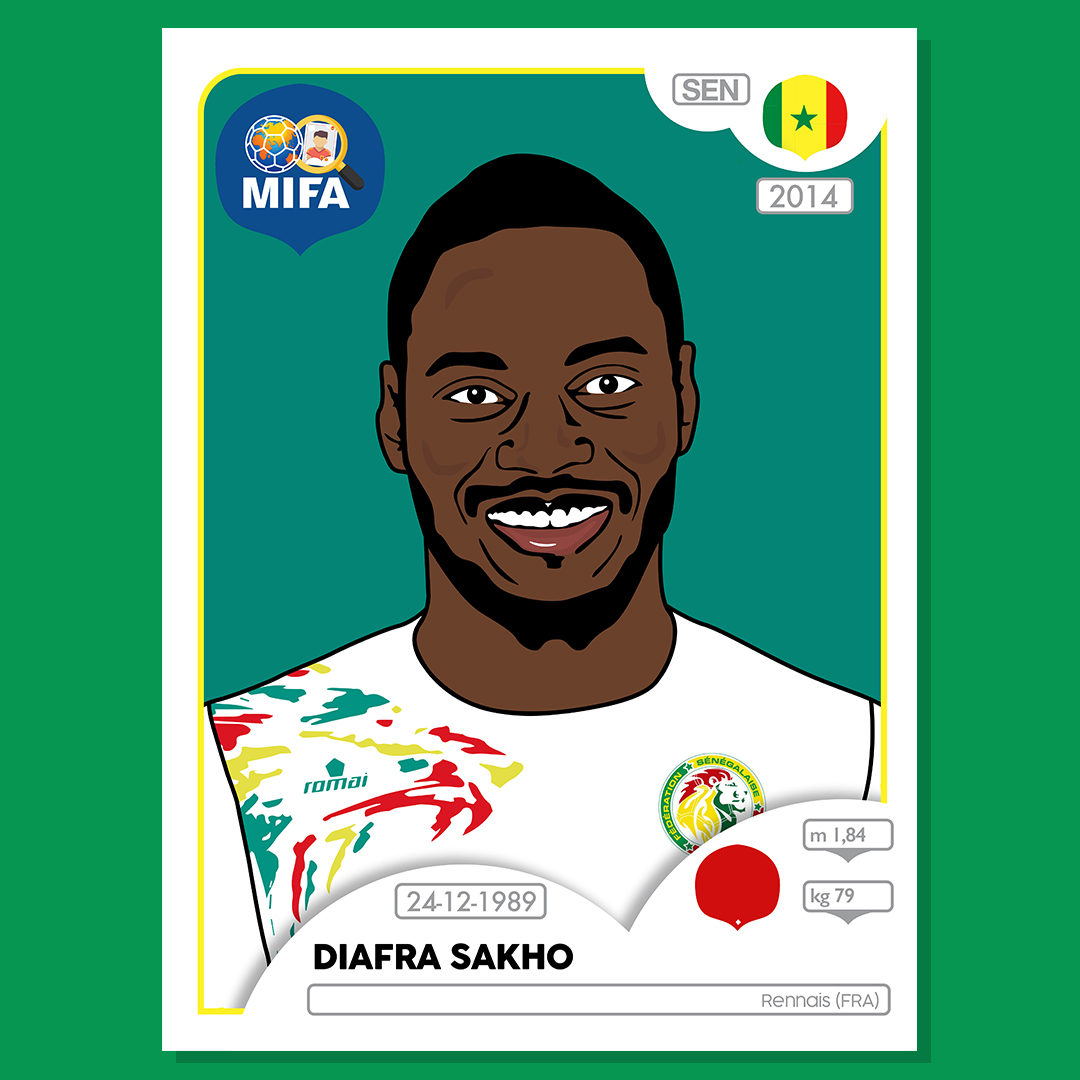 Diafra Sakho - Senegal - by Mark Hirons @bluedeerdesign