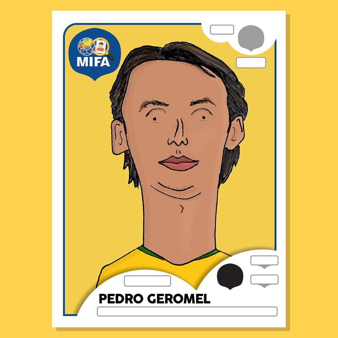 Pedro Geromel - Brazil - by Dreadfully Drawn @DreadfullyDrawn