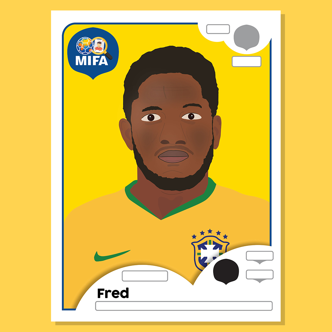 Fred - Brazil - by Craig Eccles @craigecclesdesign